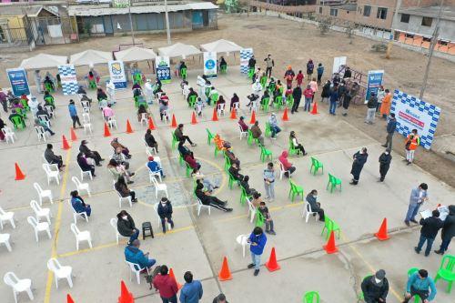 Coronavirus: Essalud realizó pruebas rápidas para descarte de Covid-19 en Villa El Salvador