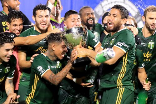 Andy Polo se corona campeón con su club Portland Timbers tras vencer al Orlando City por la `MLS is Back`