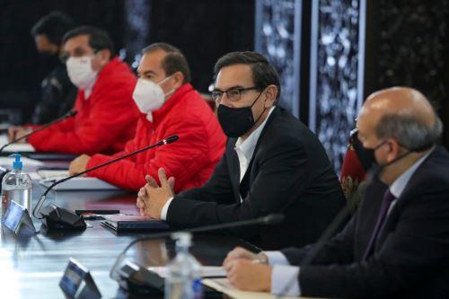 Presidente Vizcarra lidera nueva sesión del Consejo de Ministros