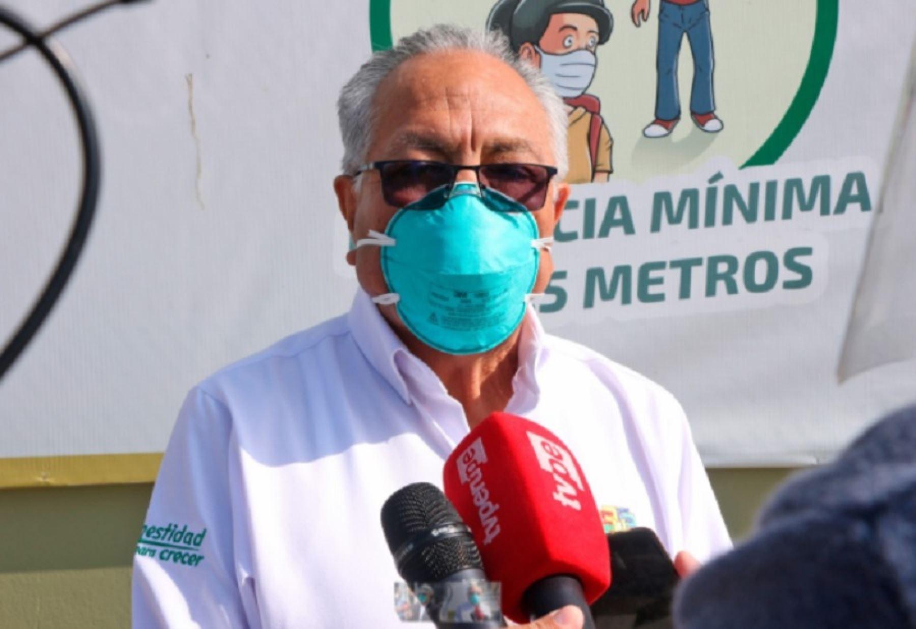 El gobernador regional de Lima, Ricardo Chavarría Oria, saludó que las provincias de Barranca, Cañete, Huaral y Huaura hayan sido incluidas en la cuarentena focalizada dispuesta por el Ejecutivo debido al repunte de los contagios de covid-19 en esas localidades del país.
