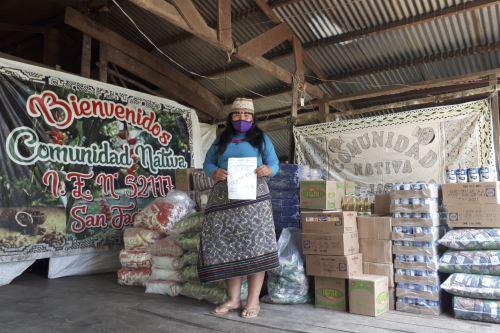 Madre de Dios: Qali Warma inició entrega de 52.3 t de alimentos a pueblos indígenas