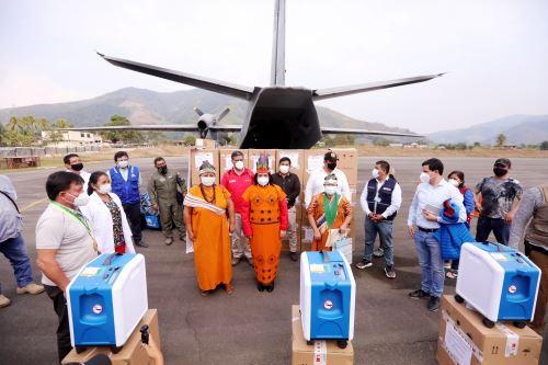 Ministra de Justicia viaja a Junín para fortalecer respuesta sanitaria frente al covid-19