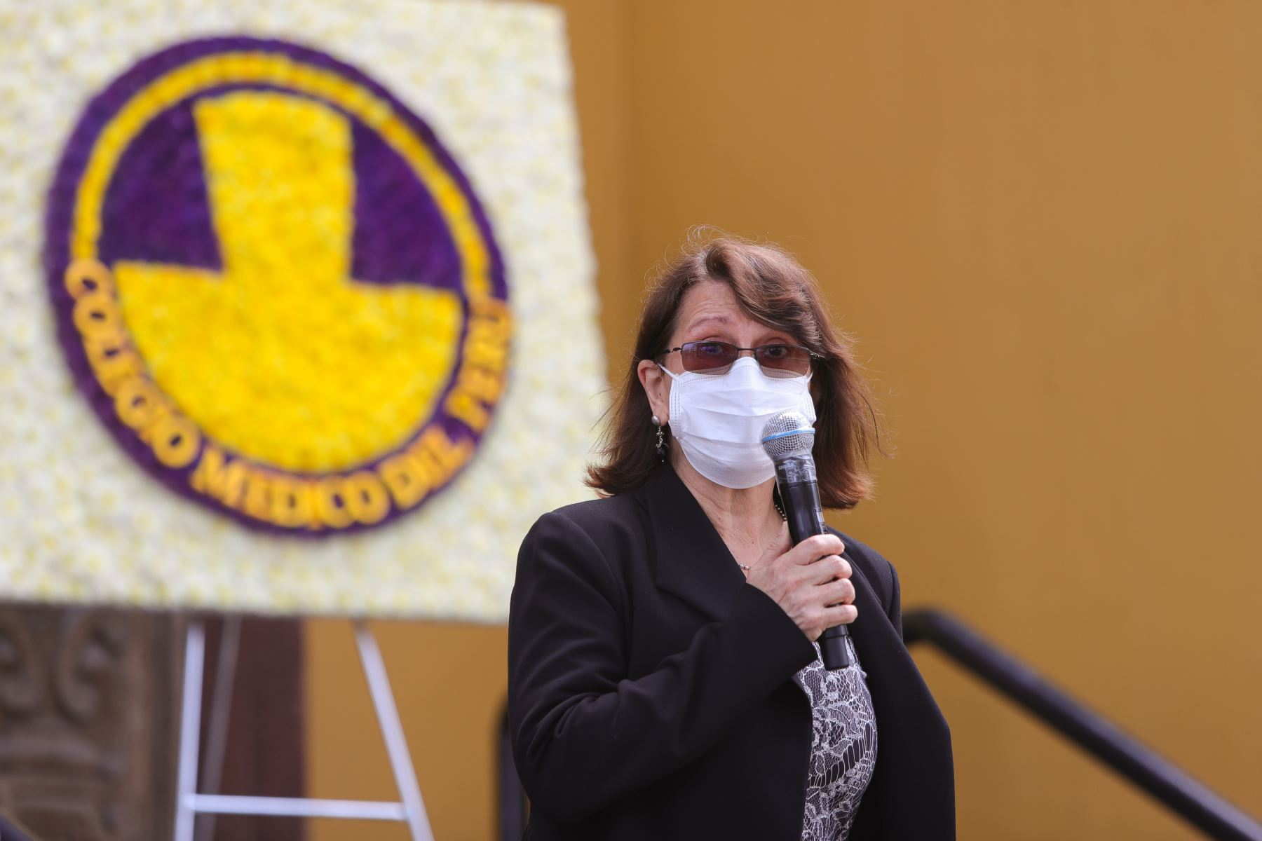 Ministra de salud, Pilar Mazzetti. Foto: ANDINA/ Prensa Presidencia