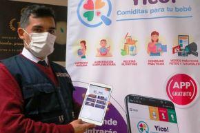 ¡Yico! Conoce el app que orienta a las madres sobre alimentación a los bebés. Foto: ANDINA/Difusión.