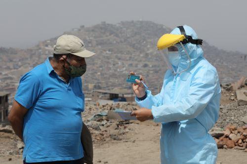 Coronavirus: Essalud realizó descarte gratuito de covid-19 a cerca de 1000 personas en el cono sur de Lima