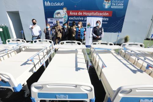 Coronavirus: Gobierno Regional de Moquegua entregará hospital de contingencia a EsSalud