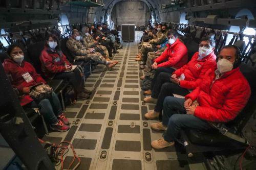 Coronavirus: Jefe de Gabinete y ministros de Estado viajan a Puno para constatar acciones contra la pandemia