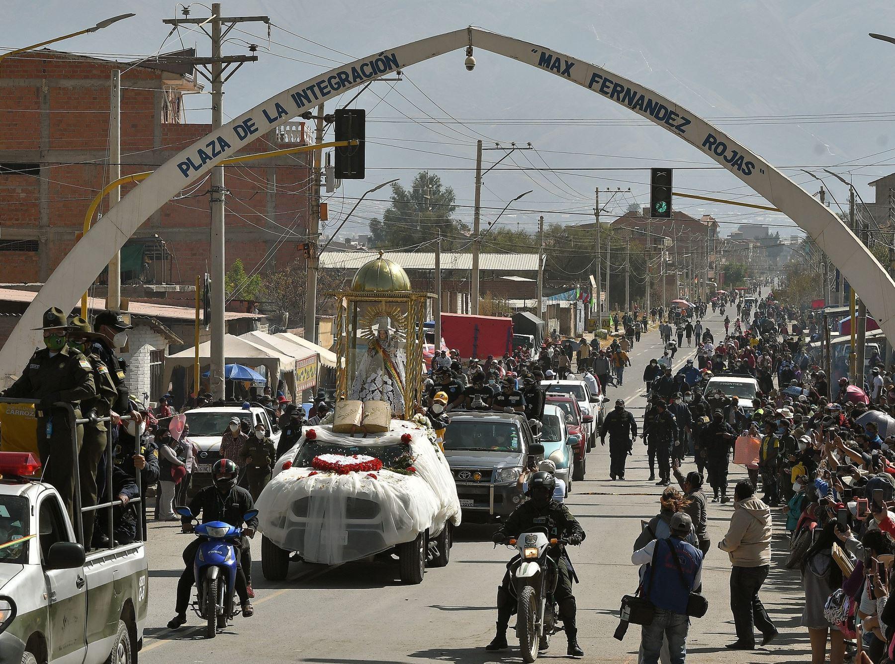 Sin Miles De Devotos Bolivia Celebra A La Virgen De Urcupina Virtualmente Noticias Agencia Peruana De Noticias Andina