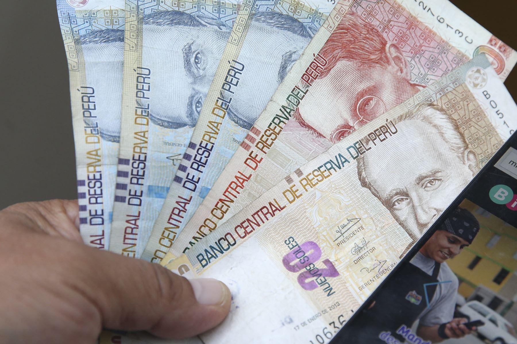 Dinero. Foto: ANDINA/Difusión