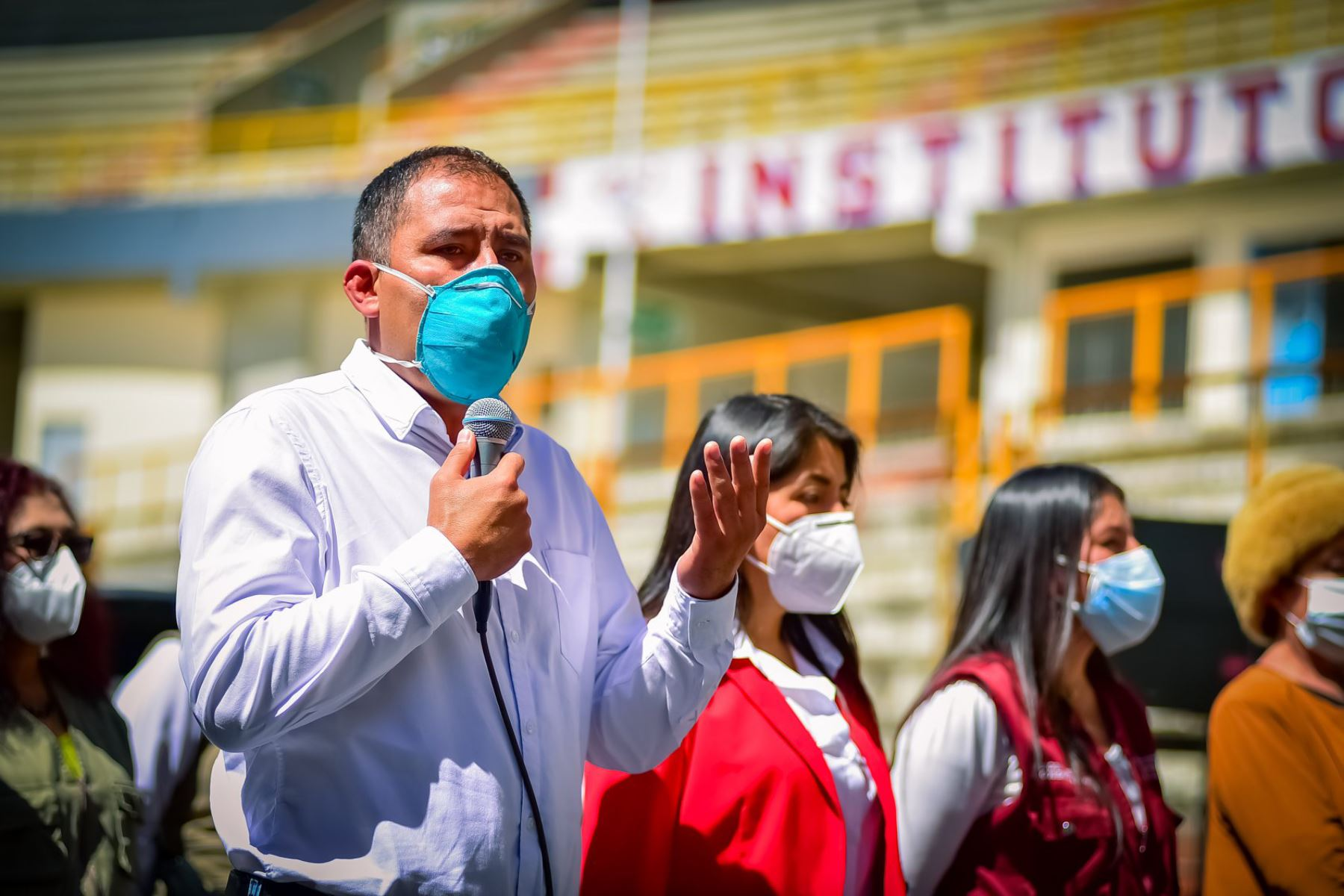 El gobernador regional de Áncash, Juan Carlos Morillo Ulloa, permanece en la UCI del hospital Rebagliati. Foto: ANDINA/Difusión