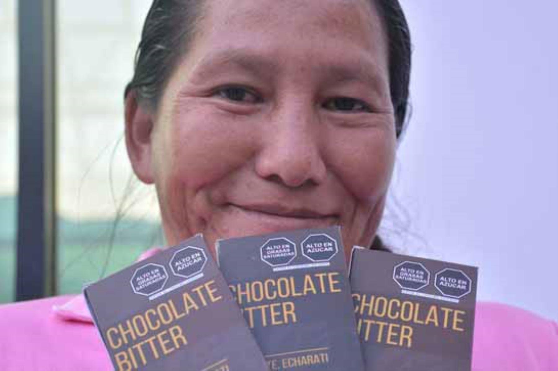 El Sernanp promovió acciones que permitieron el aumento del 30 % en la venta del cacao en beneficio de las asociaciones. Foto: ANDINA/Difusión