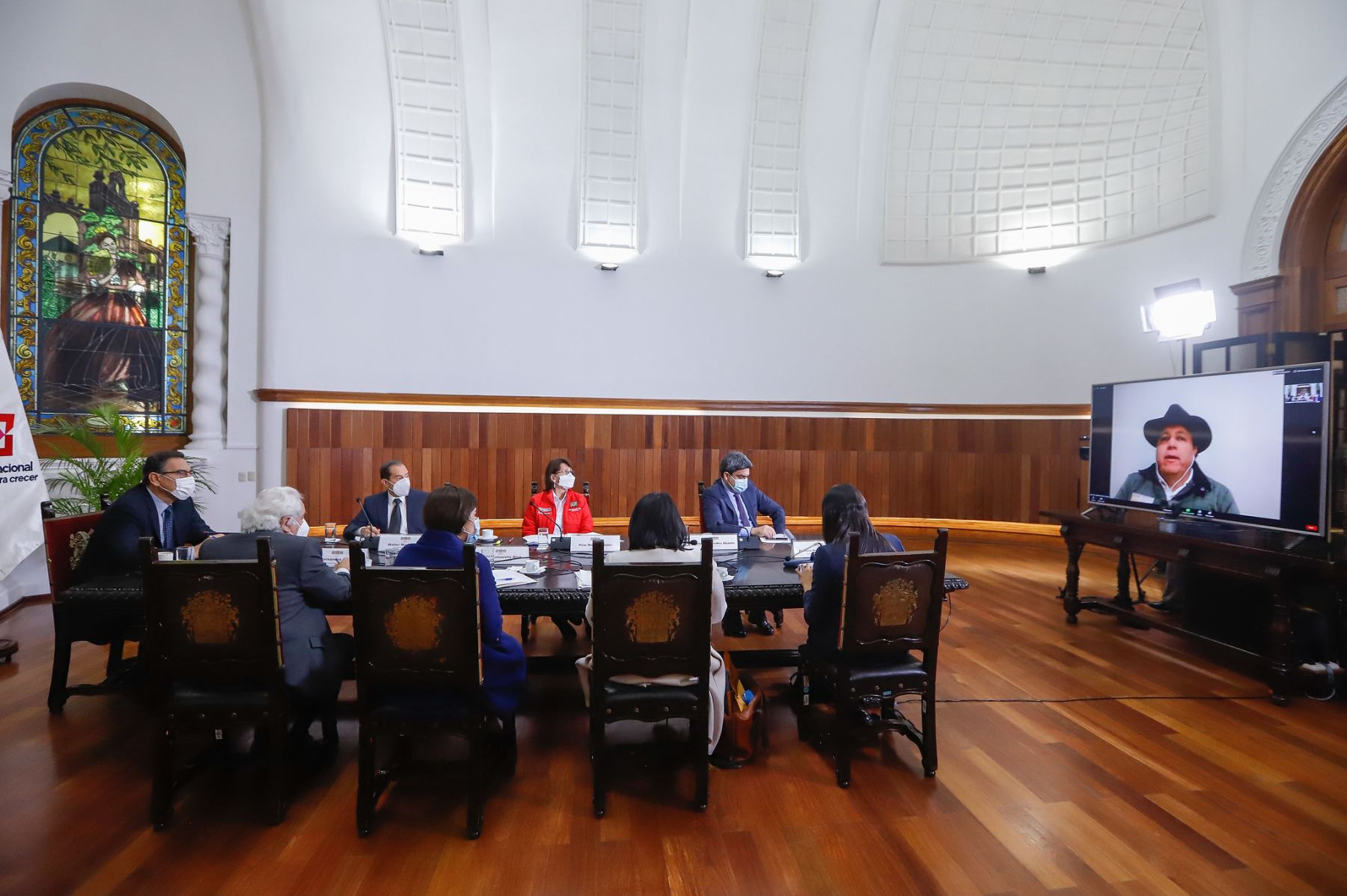 El presidente Martin Vizcarra preside reunión donde se expondrán las propuestas del Pacto Perú. Foto: ANDINA/Prensa Presidencia