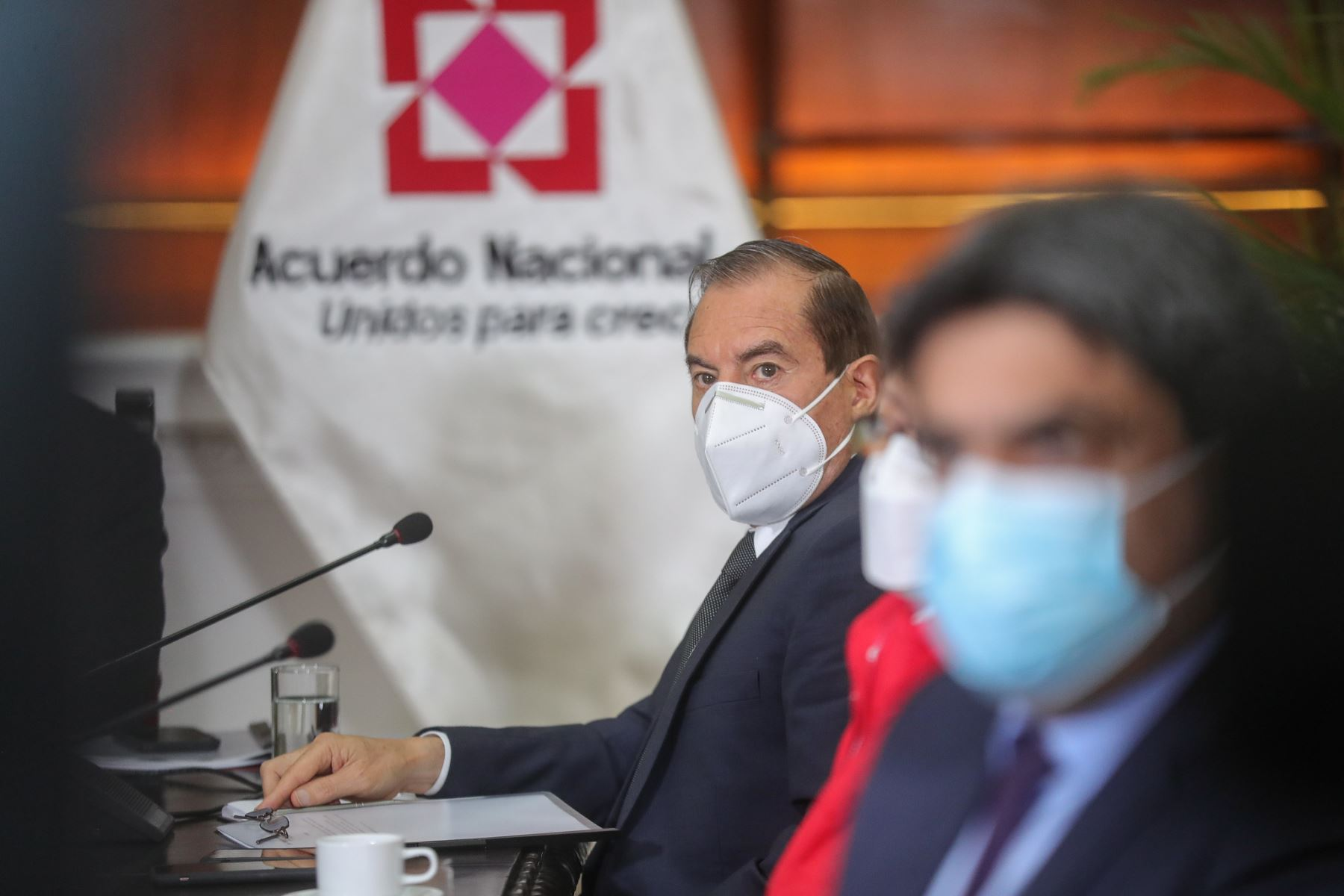 Premier Walter Martos participa en reunión donde se expondrán las propuestas del Pacto Perú. Foto: ANDINA/Prensa Presidencia