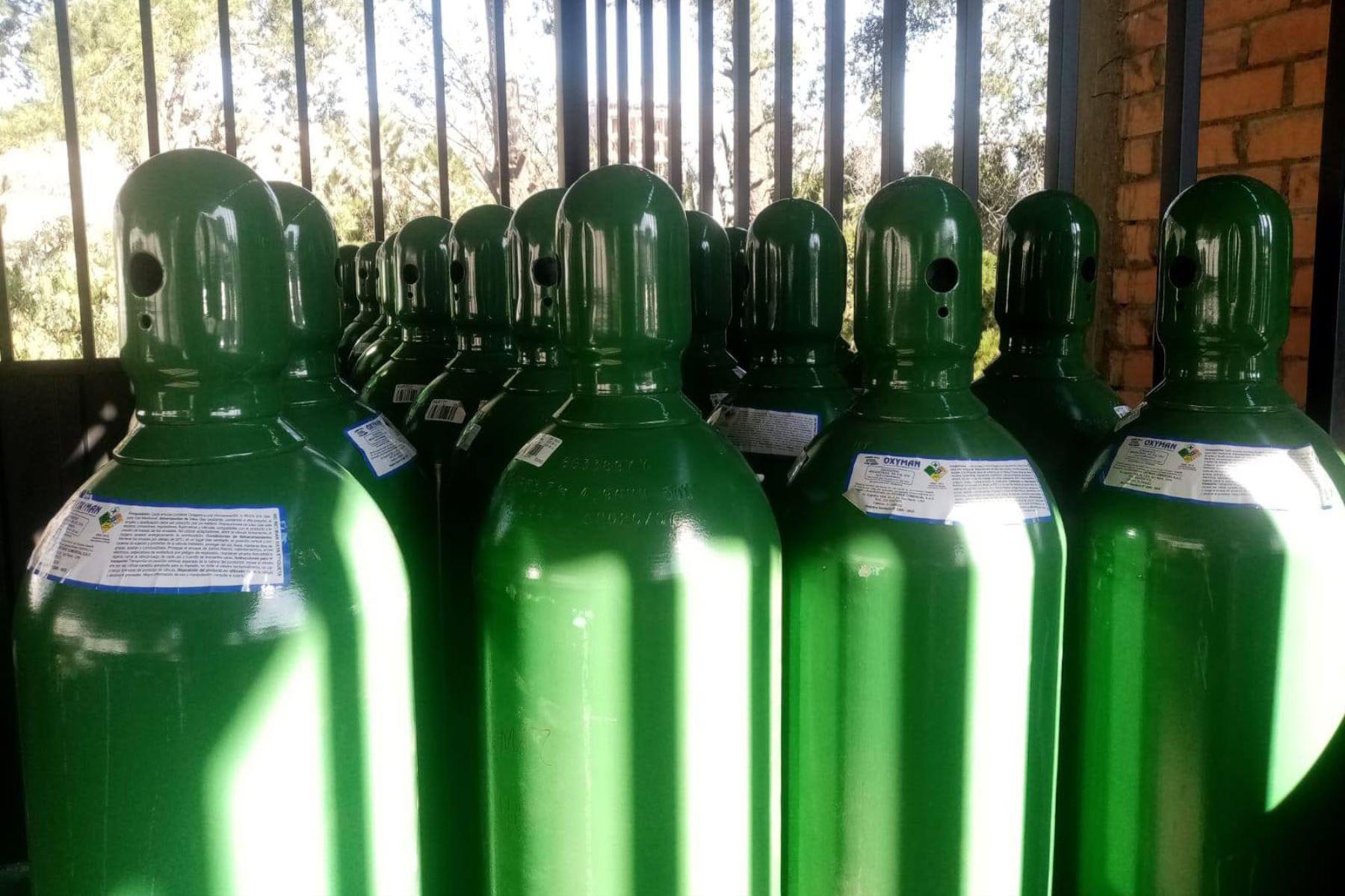 La planta de oxígeno para Chimbote (Áncash) tiene una capacidad de instalación de 10 metros cúbicos. Foto: ANDINA/Difusión