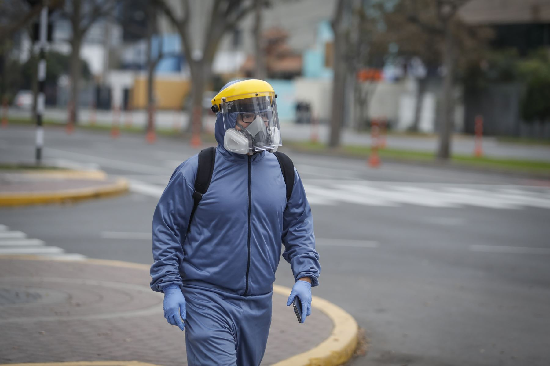 Trabajador. Foto: ANDINA/Renato Pajuelo