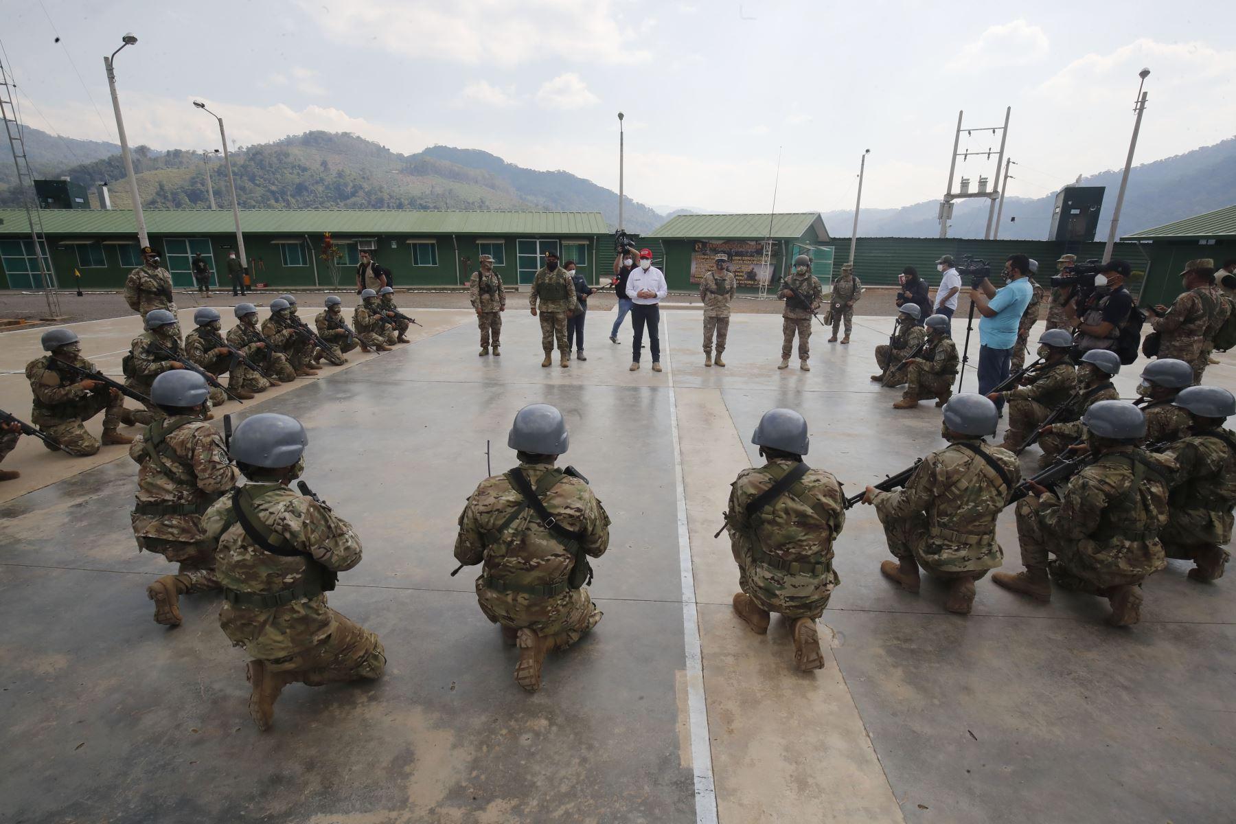 Normas Legales: autorizan ingreso de personal militar brasileño y colombiano