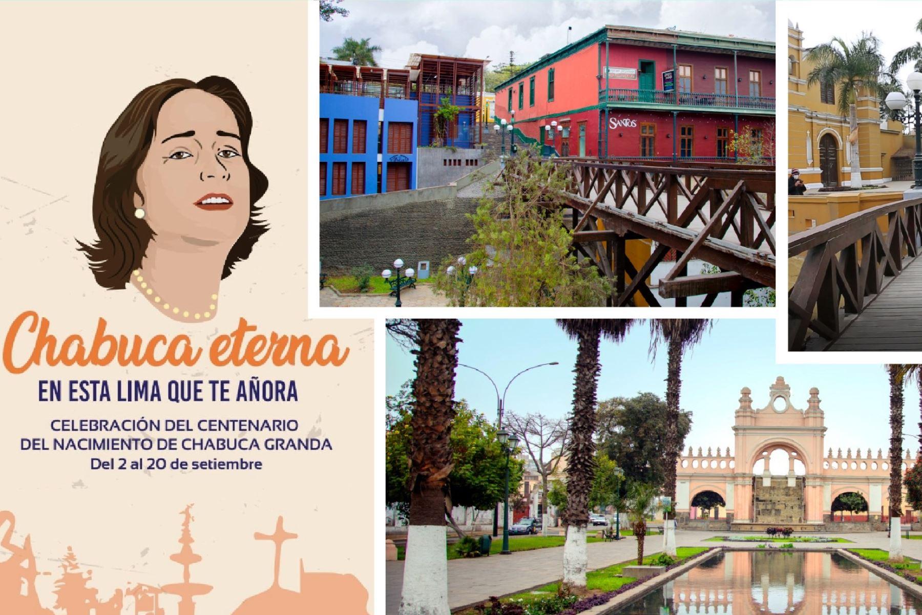 Sé parte de las actividades virtuales por los 100 años de Chabuca Granda. Foto: ANDINA/Difusión.