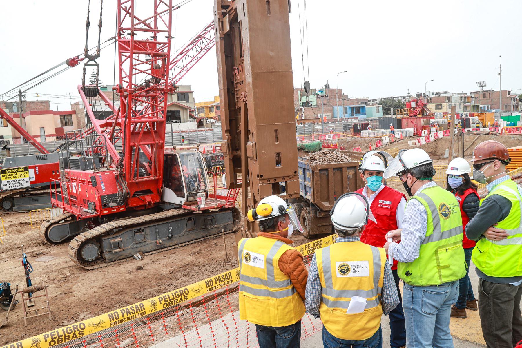 Línea 2 del Metro: eventuales daños a viviendas serán corregidos por el concesionario | Noticias