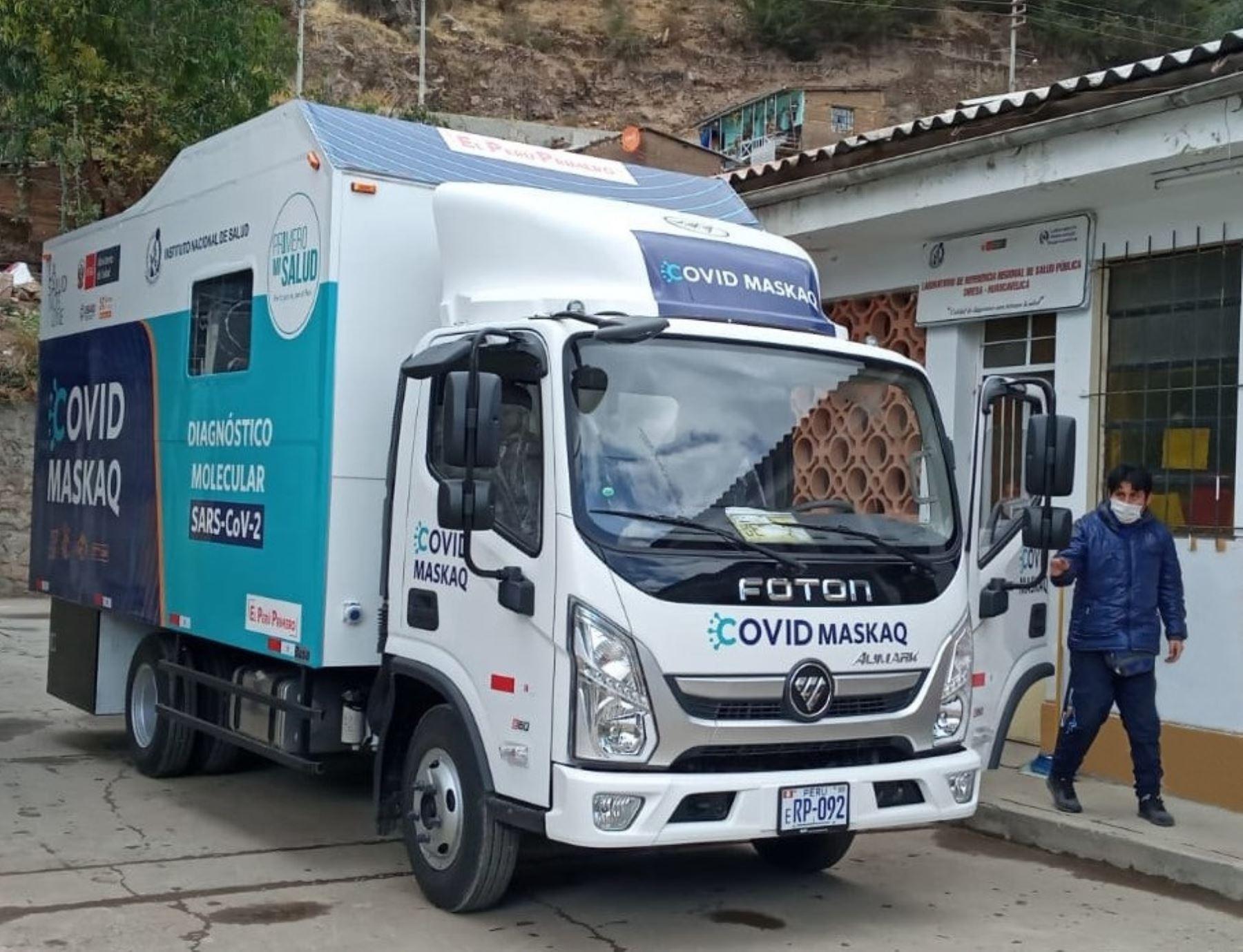 Coronavirus: Covid Maskaq llega a Huancavelica para buscar a contagiados   Noticias