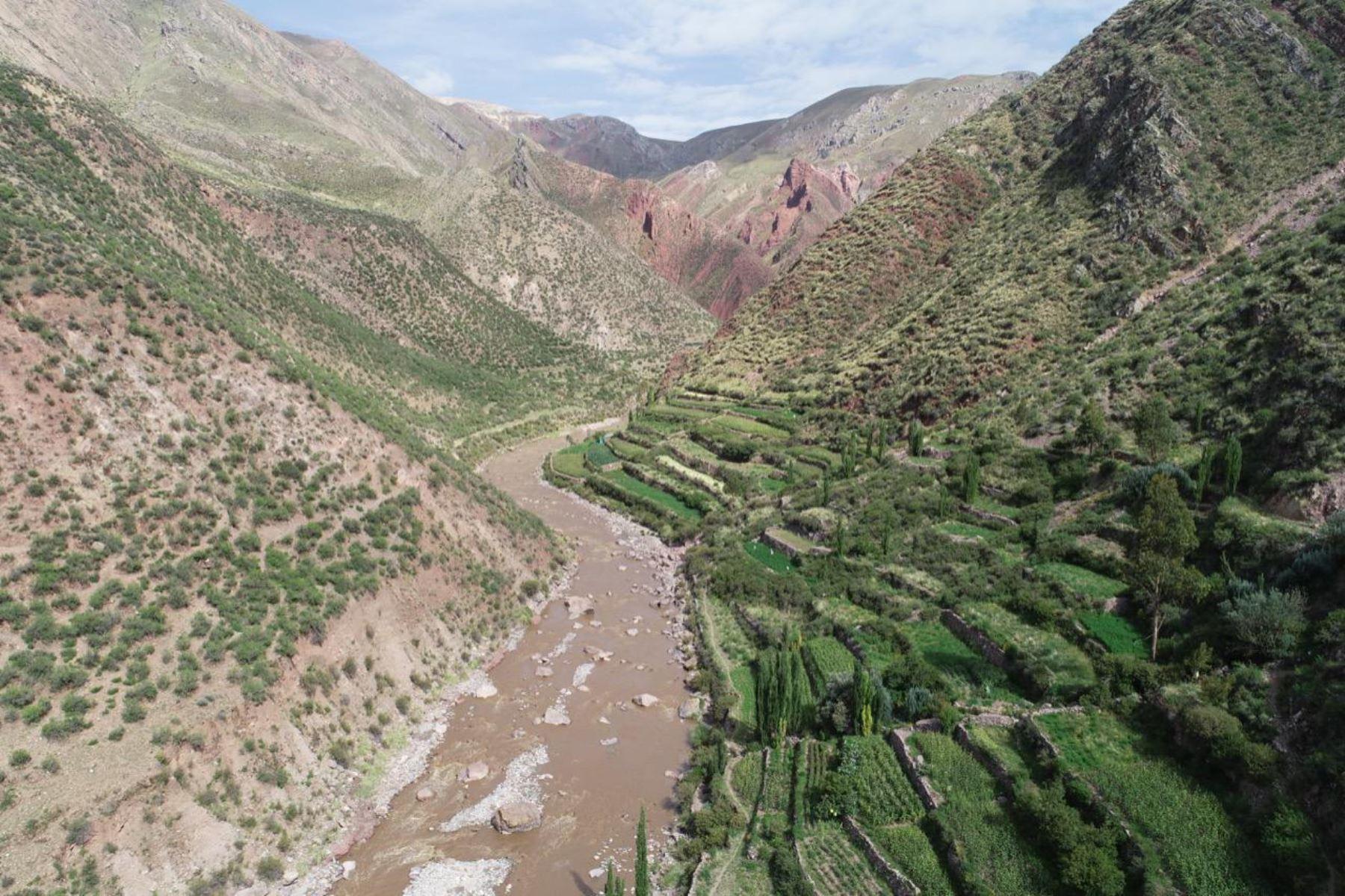 La futura construcción de la represa Yanapujio generará empleo y beneficiará a los pobladores de Moquegua. ANDINA/Difusión