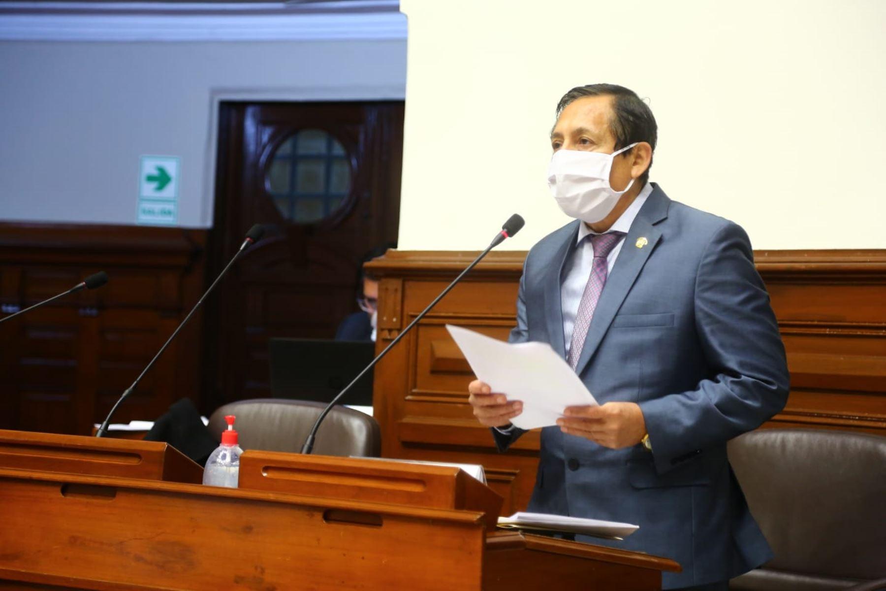 Almerí: Congreso continuará con elección del TC, pese a fallo del PJ