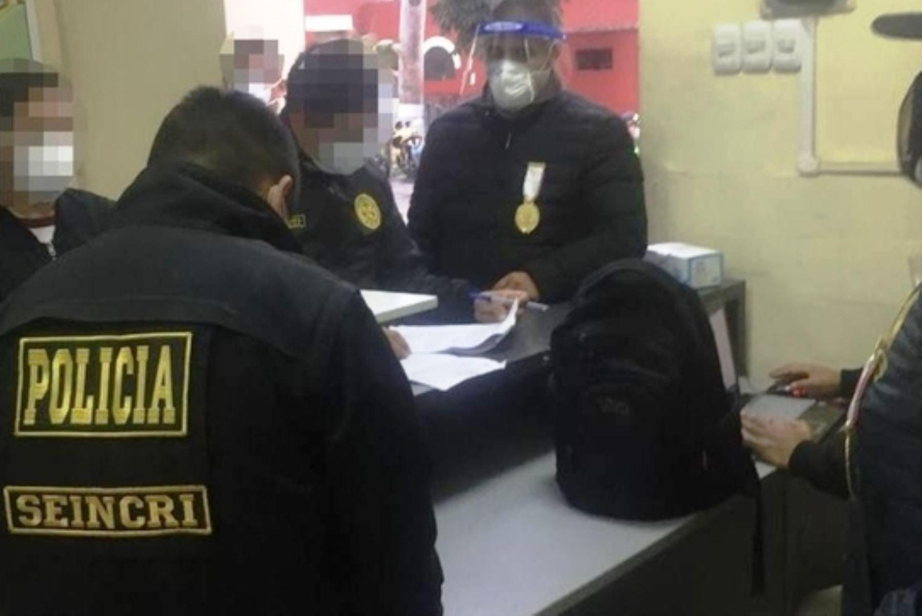 La Victoria: intervienen comisaría por presunto cobro de sobornos por parte policías. Foto: ANDINA/difusión.