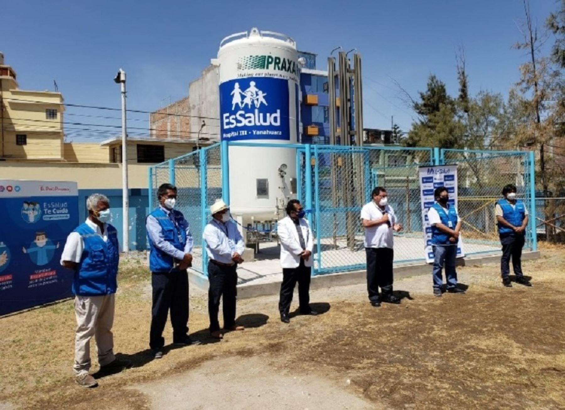 Coronavirus: EsSalud Arequipa refuerza dotación de oxígeno para hospitales de la región | Noticias