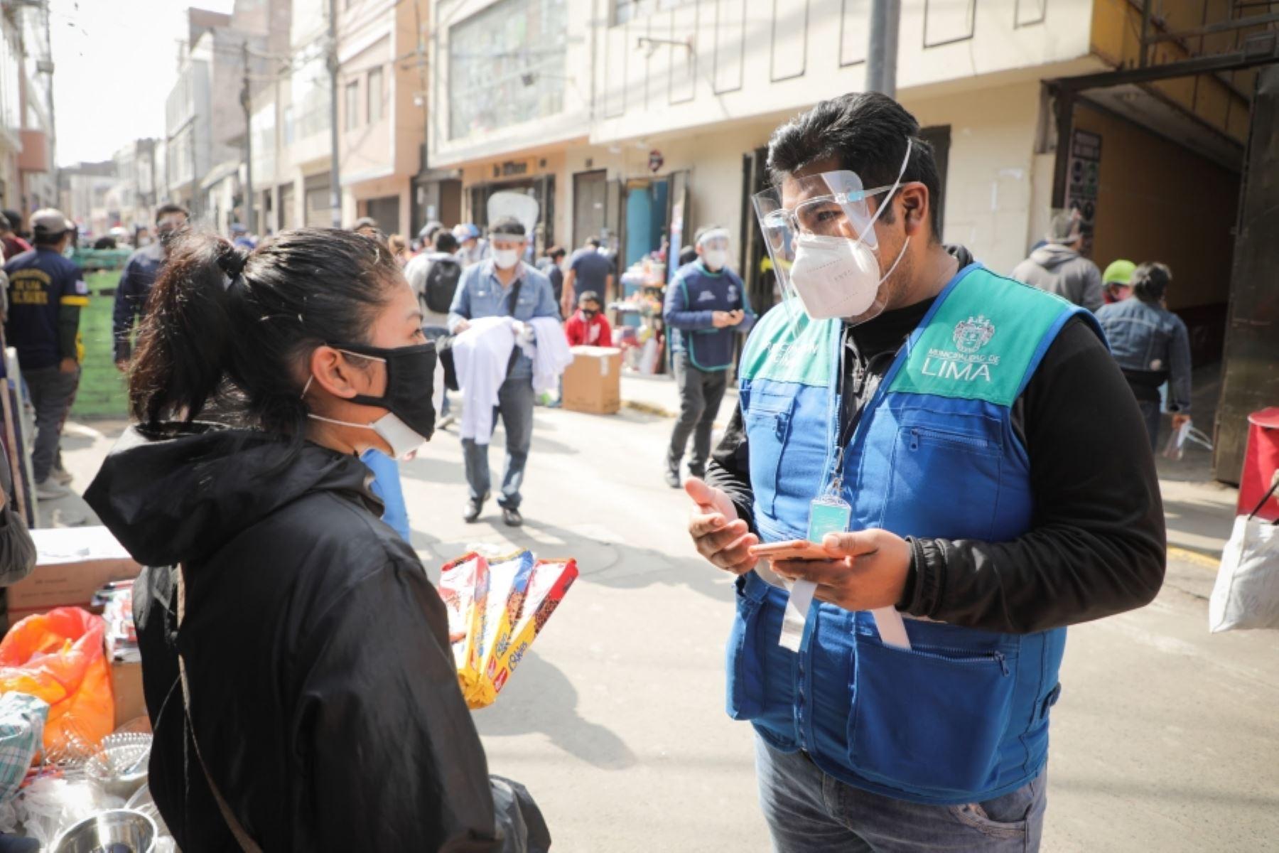 Mesa Redonda: inician registro de comerciantes ambulantes. Foto: ANDINA/Difusión. Foto: ANDINA/Difusión.