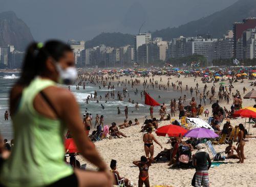Playa de Ipanema, en Río de Janeiro (Brasil). Foto: EFE