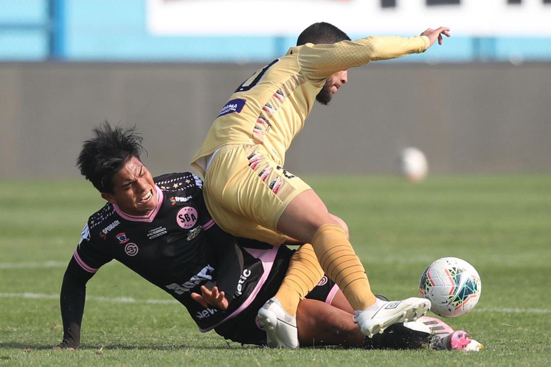 Club UTC  y Sport Boys se enfrentan por la jornada 10 de la Liga 1, en el estadio Alberto Gallardo.  Foto: LigaFutProf