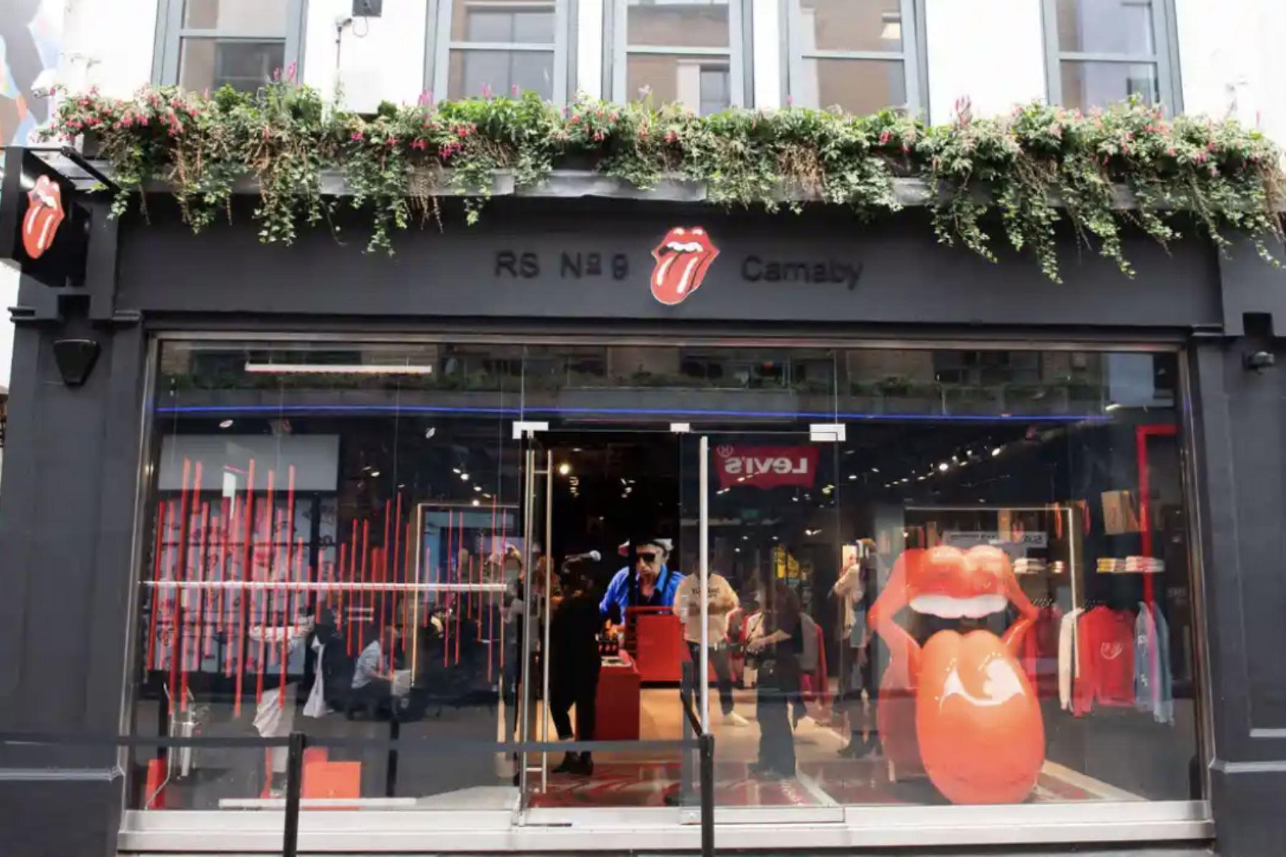 Los Rolling Stones abren su primera tienda en Londres | Noticias | Agencia  Peruana de Noticias Andina