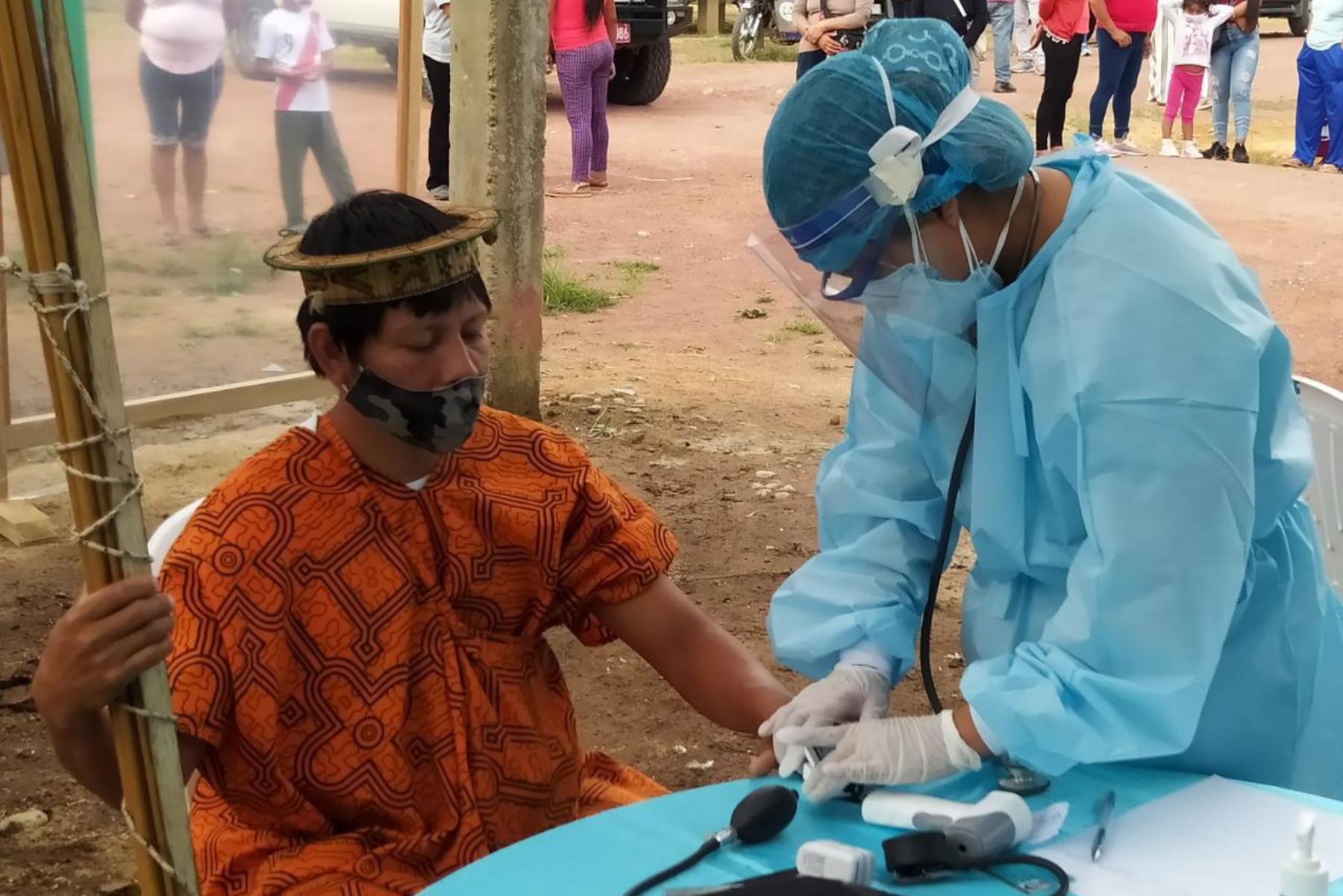 Luego de recibir más de 31,000 dosis de la vacuna contra el covid-19 por parte del Ministerio de Salud, la región Amazonas fortalecerá su proceso de vacunación con brigadas itinerantes. Foto: ANDINA/difusión.