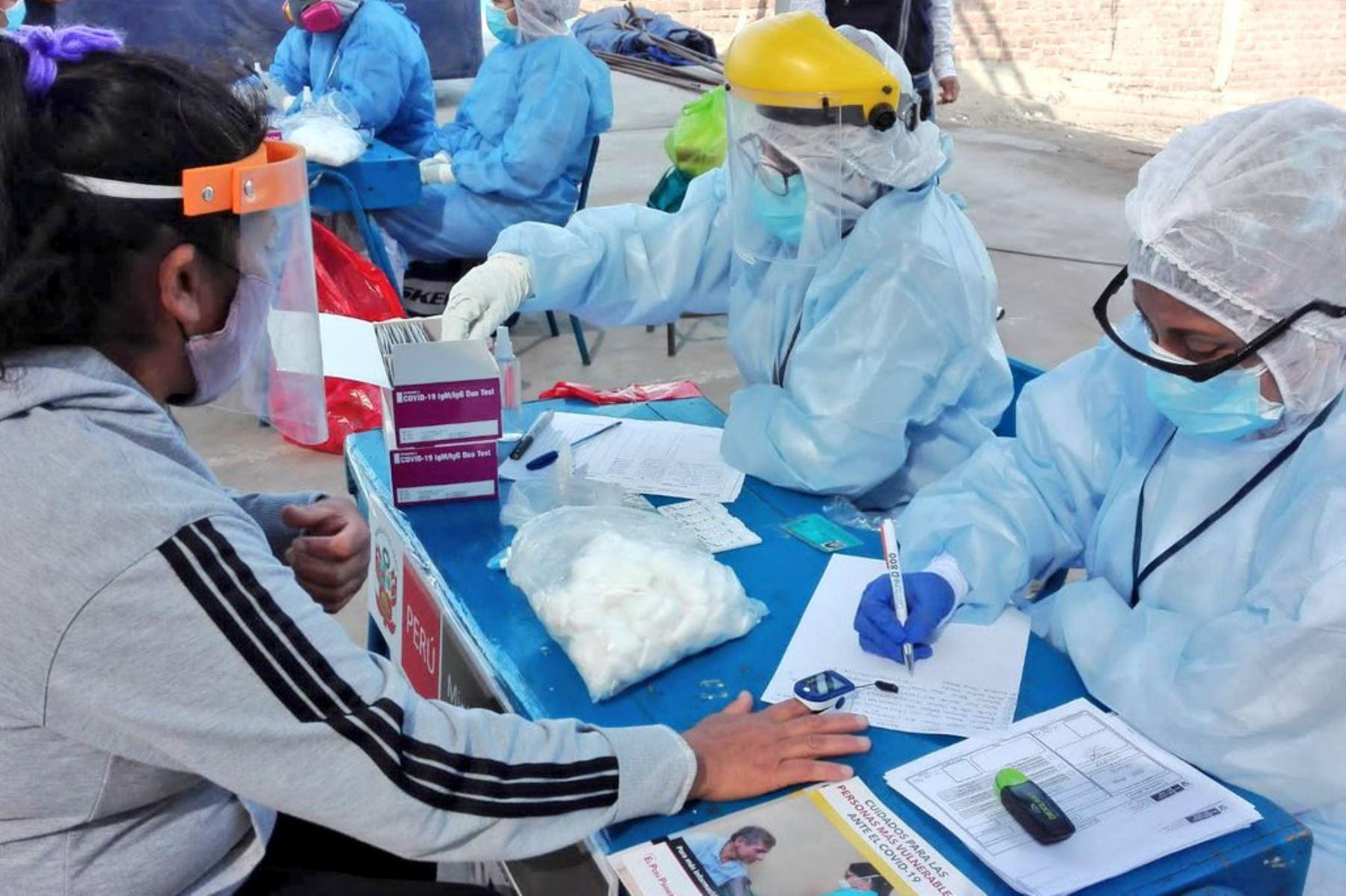 Gobierno amplía y refuerza respuesta sanitaria en el marco de la emergencia por covid-19. ANDINA/Difusión