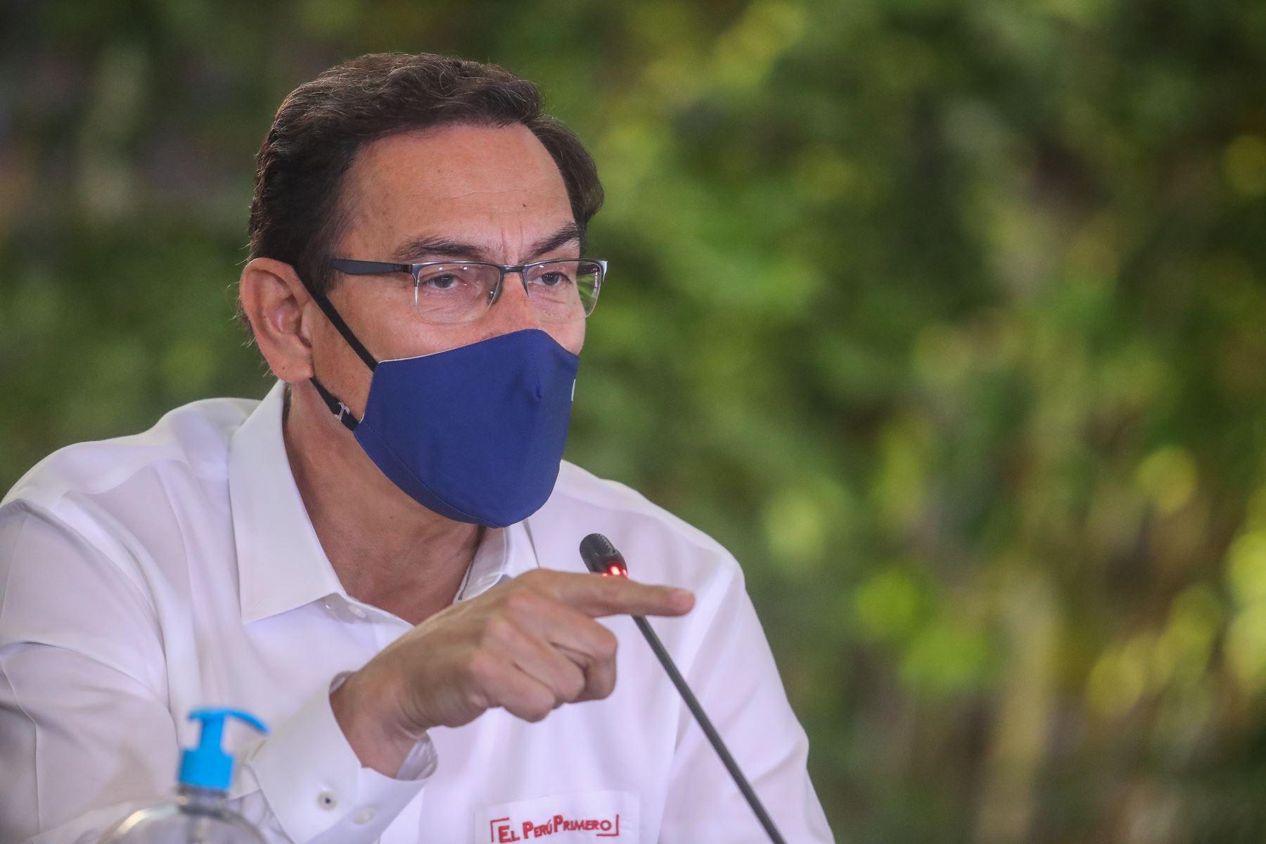 Presidente Vizcarra: Sigamos trabajando unidos por lo que realmente importa a los peruanos | Noticias