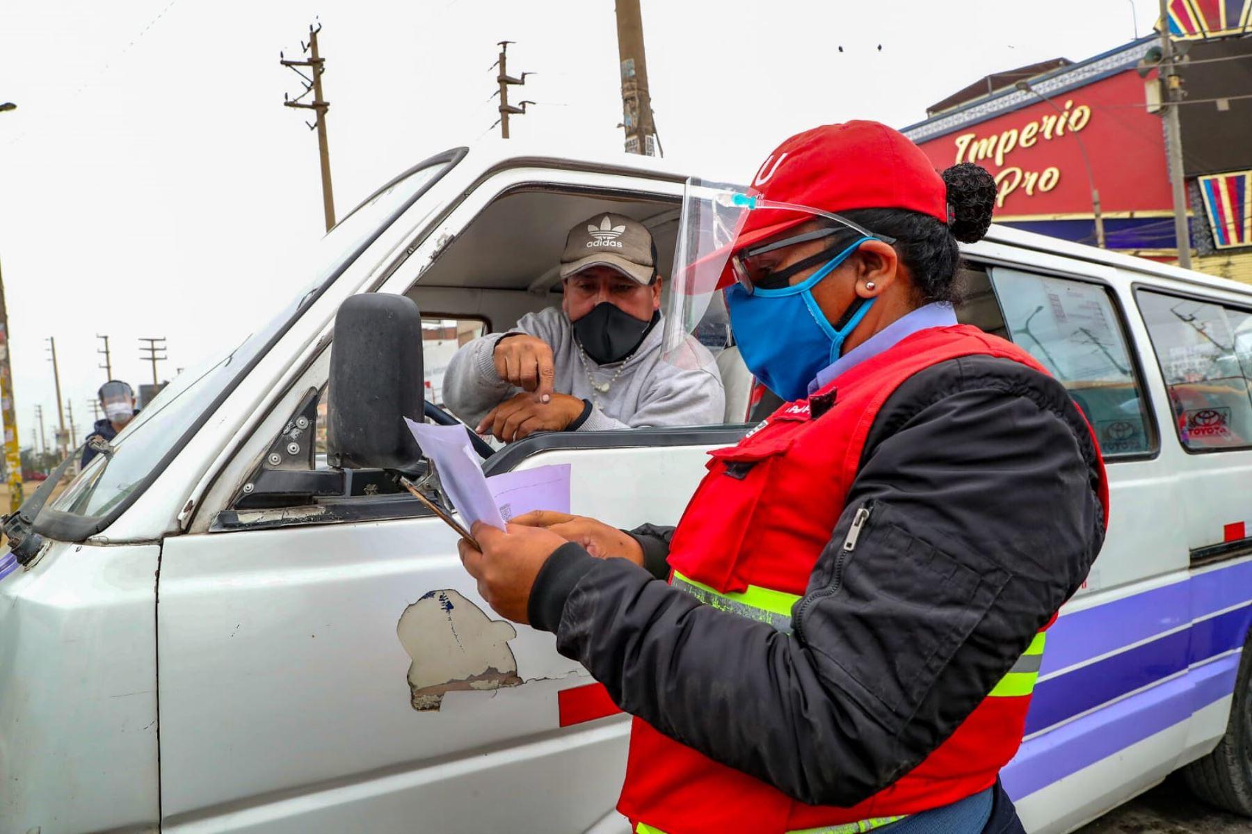 ¡Atención! ATU abre convocatoria para contratar a 300 nuevos fiscalizadores de transporte. Foto: ANDINA/Difusión.