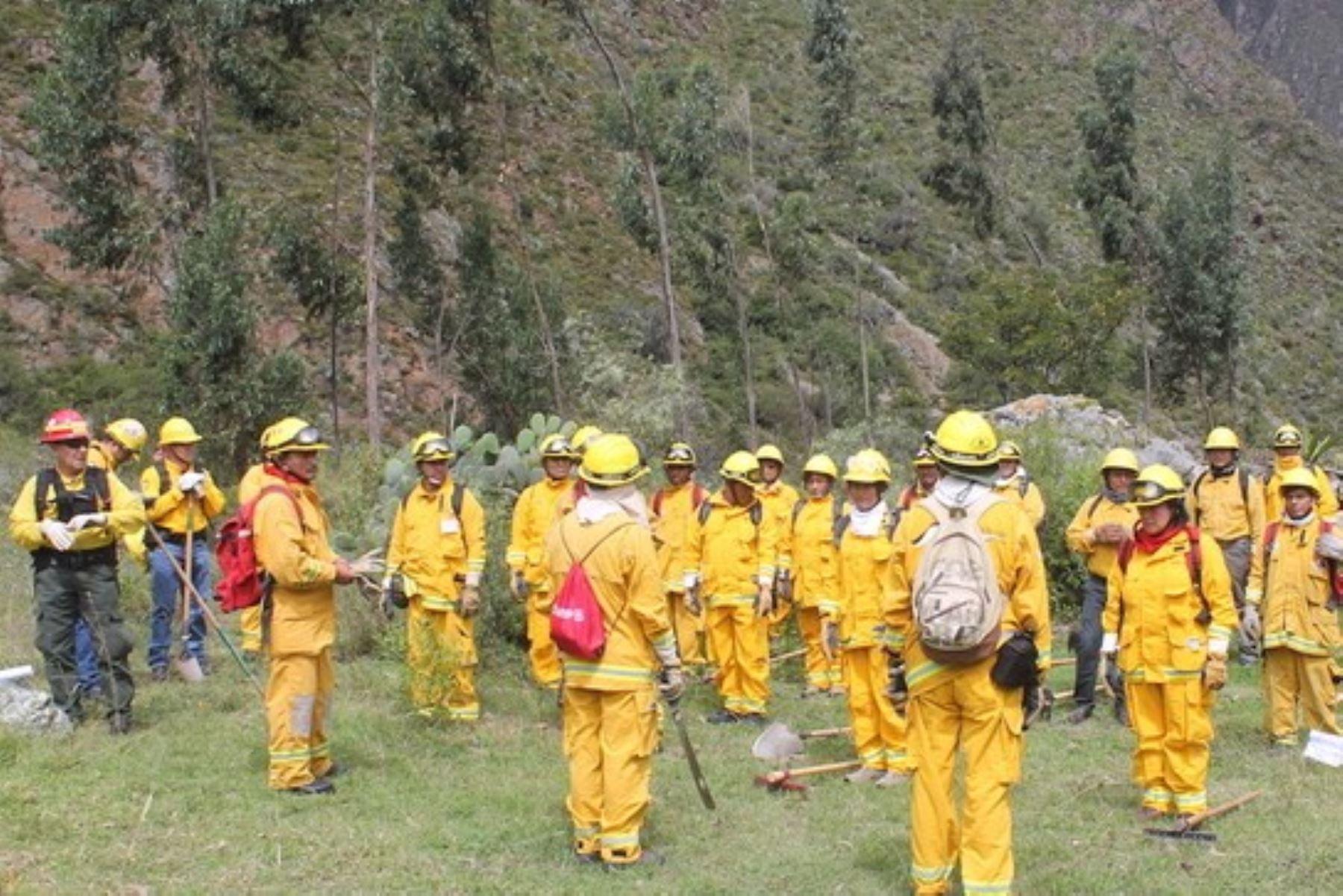 Cuadrillas especializadas monitorean las condiciones que hacen propicia la ocurrencia de incendios forestales.