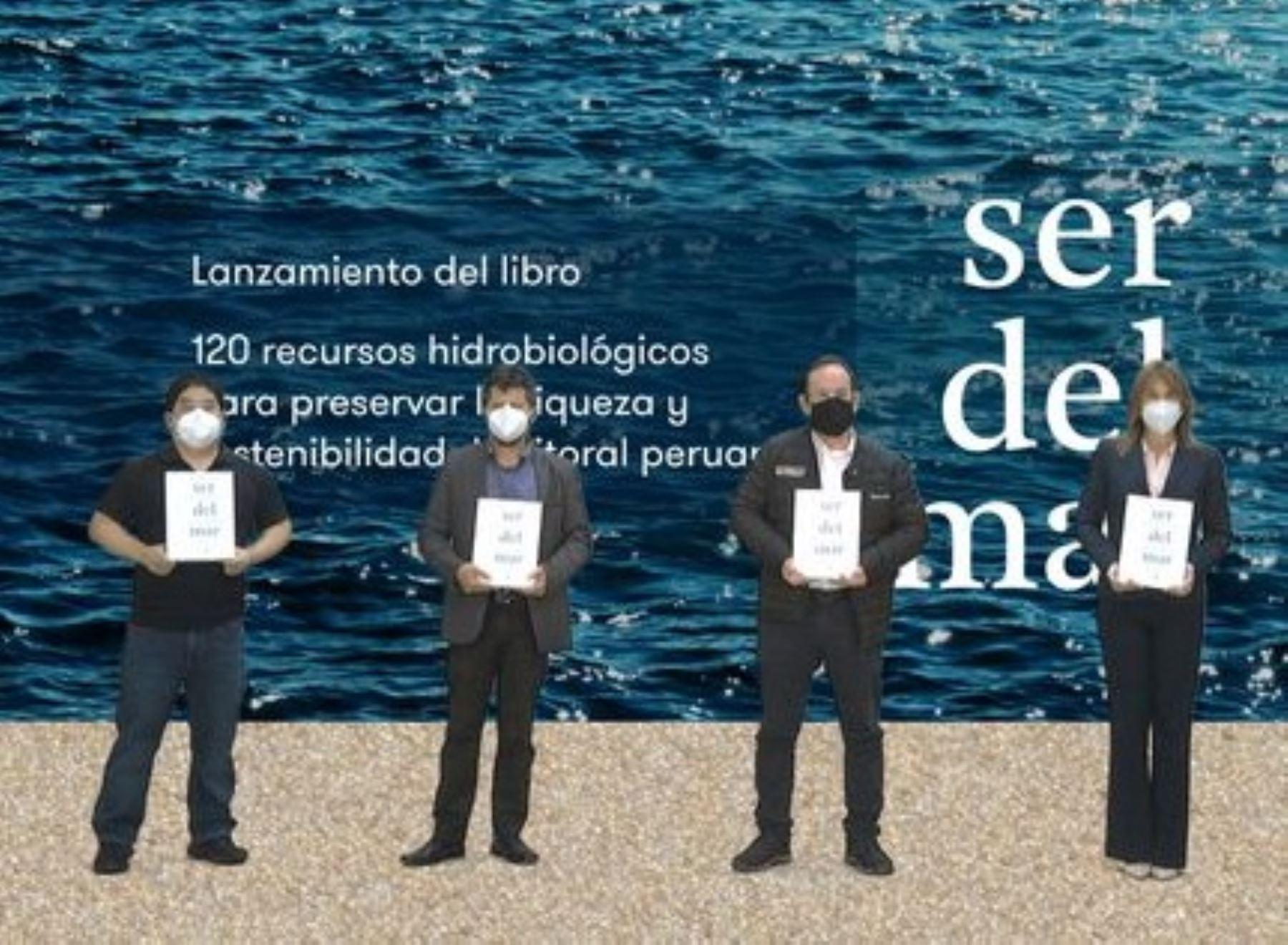 """Sociedad Nacional de Pesquería presentó el libro """"Ser de mar""""."""