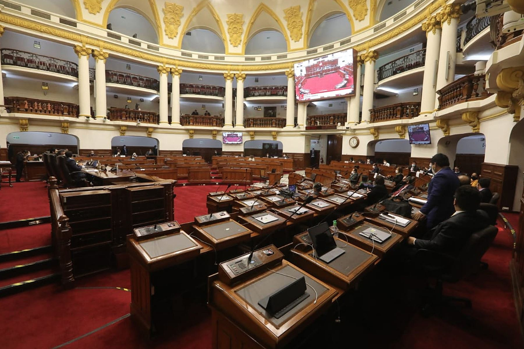 Peruvian Congress headquarters. Photo: ANDINA/Congress of the Republic