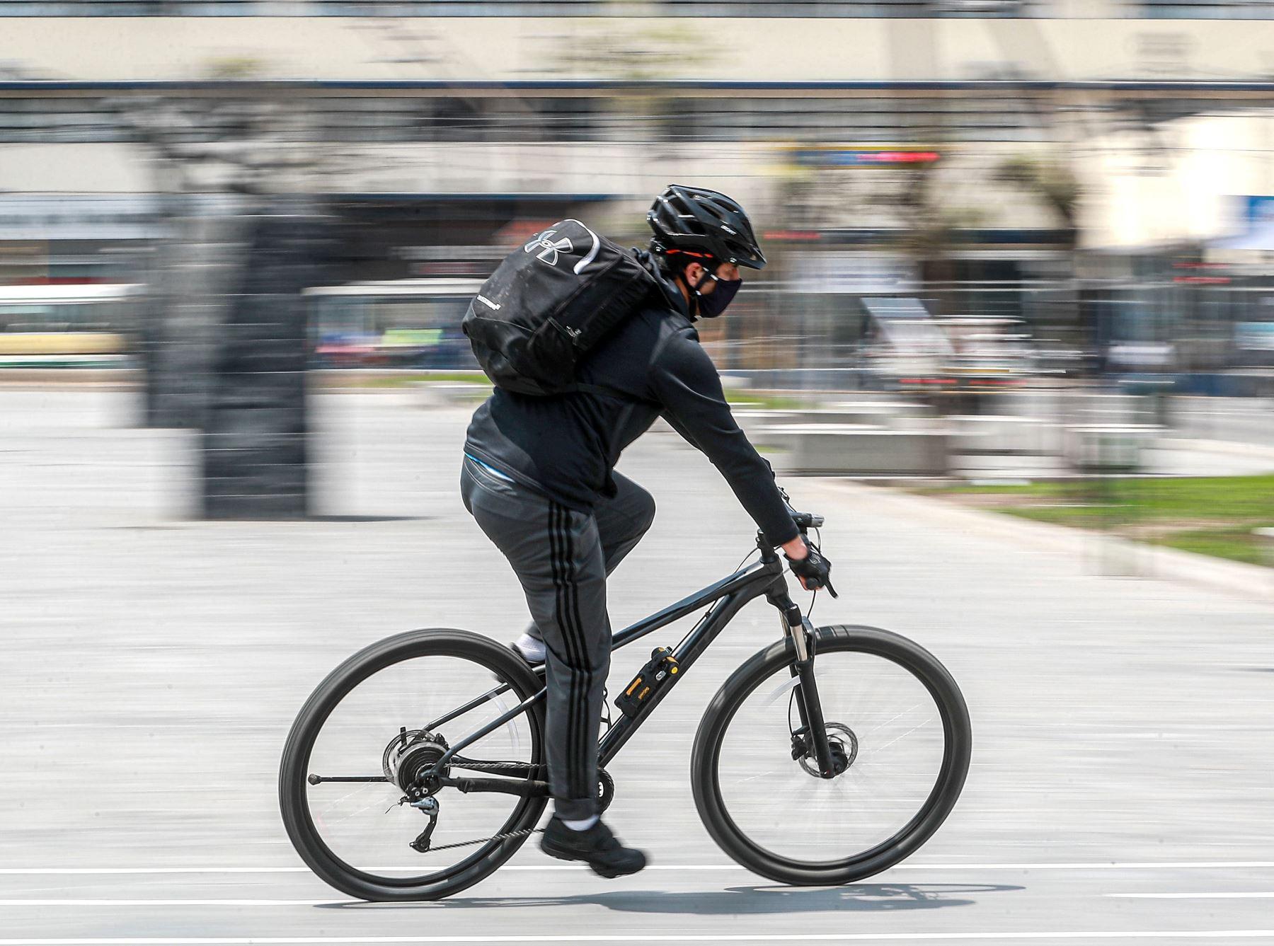 En la ciudad de Juliaca, capital de la provincia de San Román, se implementarán 21.94 kilómetros de ciclovías. Foto: ANDINA/difusión.