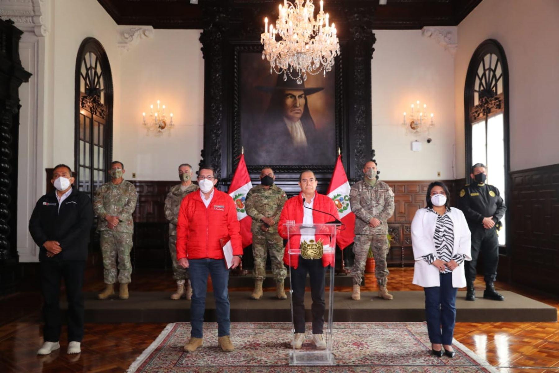 Photo: ANDINA/Presidency of the Republic