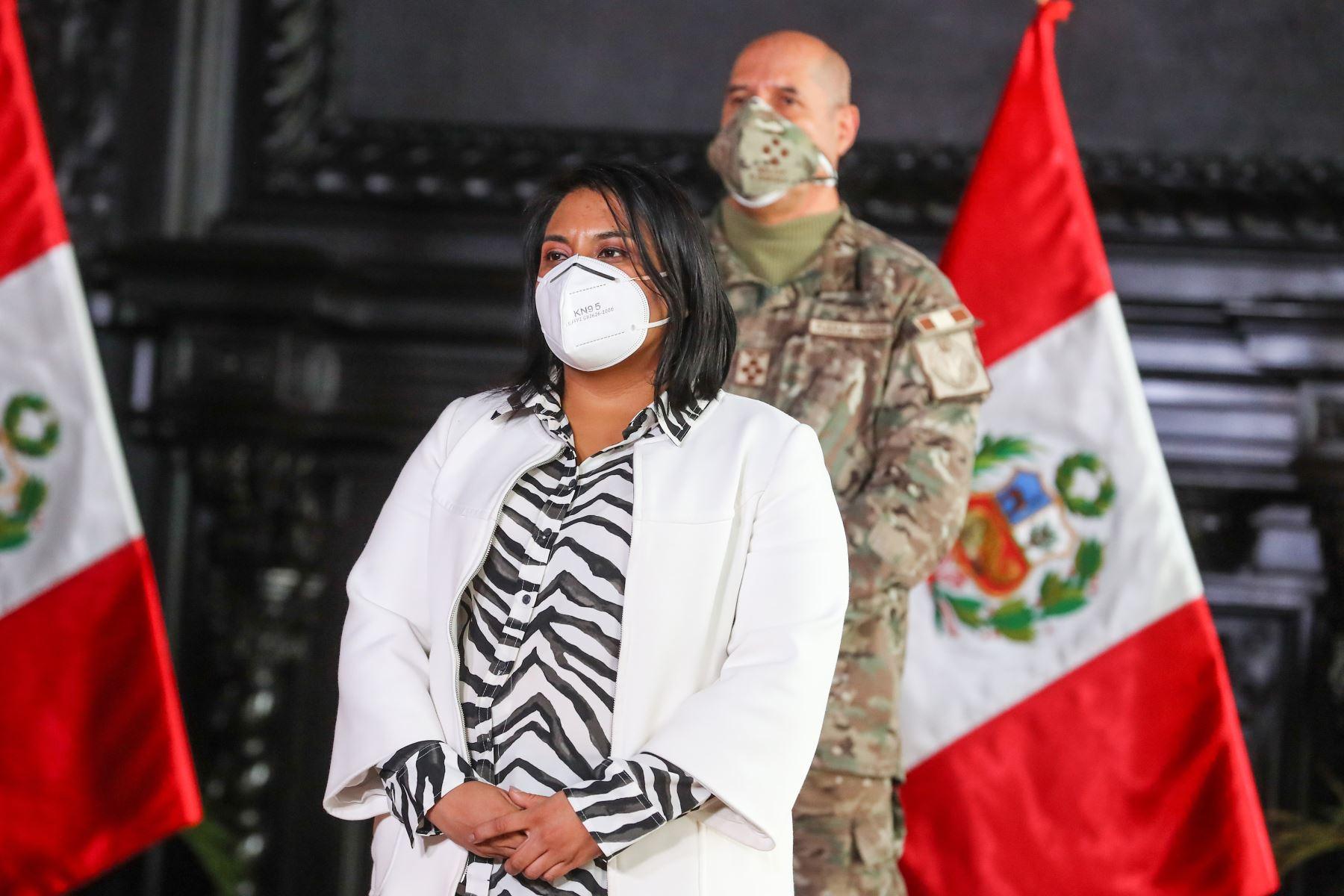 Ministra de Justicia invoca al Congreso a la responsabilidad con el país y los peruanos | Noticias