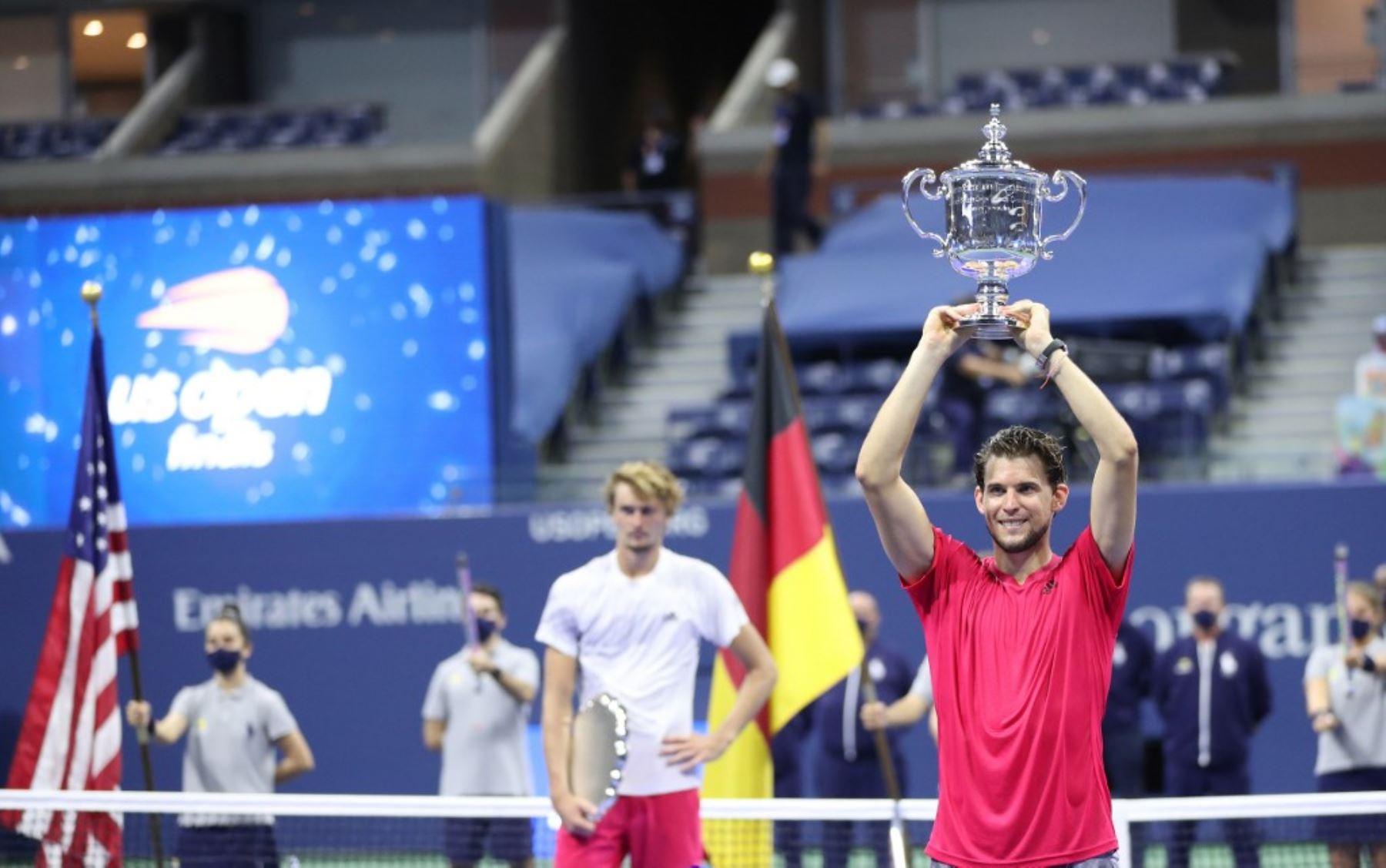 Thiem ganó el US Open y se mantiene tercero de la ATP