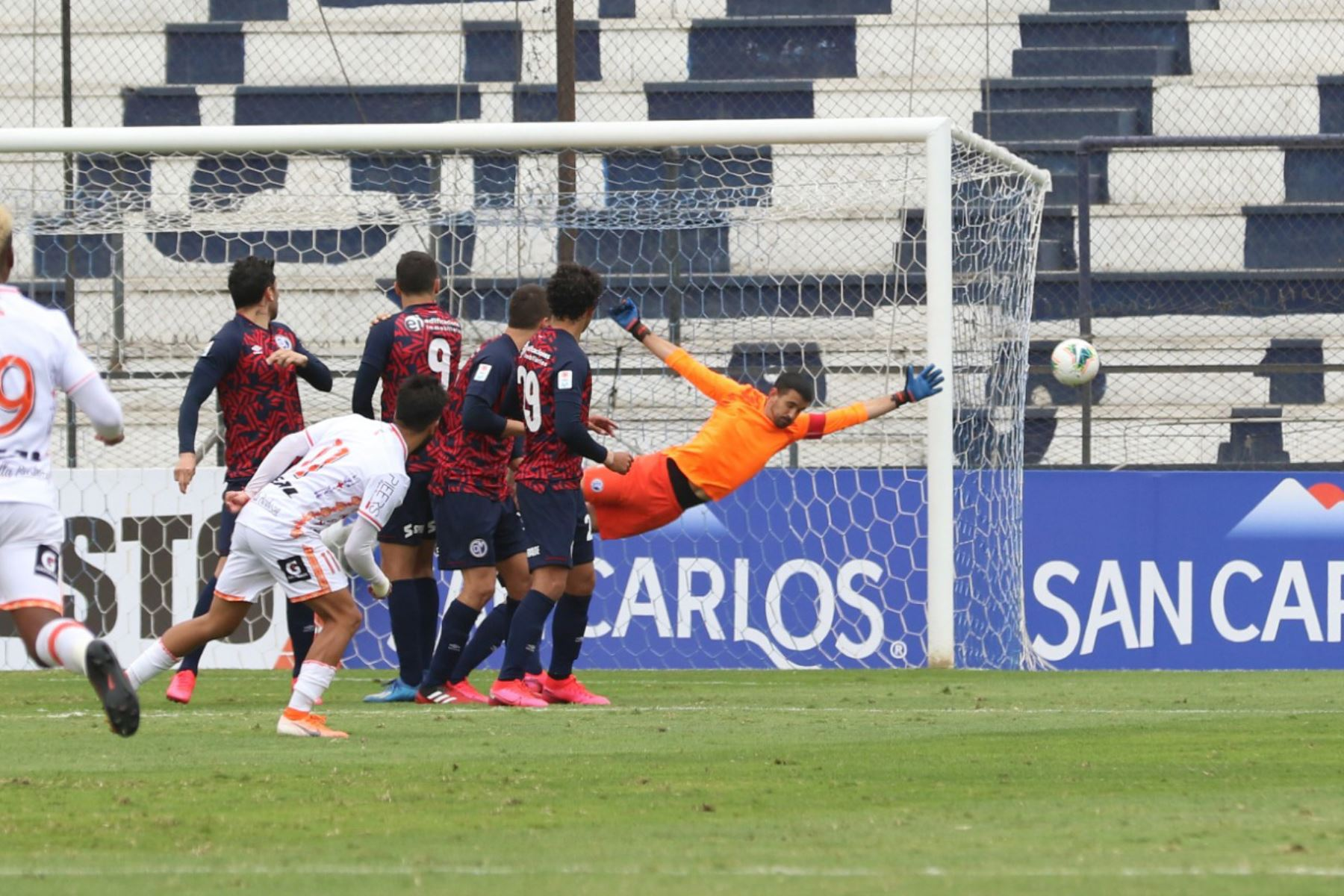 Deportivo Municipal vence 2 a 1 a Ayacucho FC por la jornada 11 de la Liga 1 que se disputa en el estadio Miguel Grau del Callao. Foto: @LigaFutProf