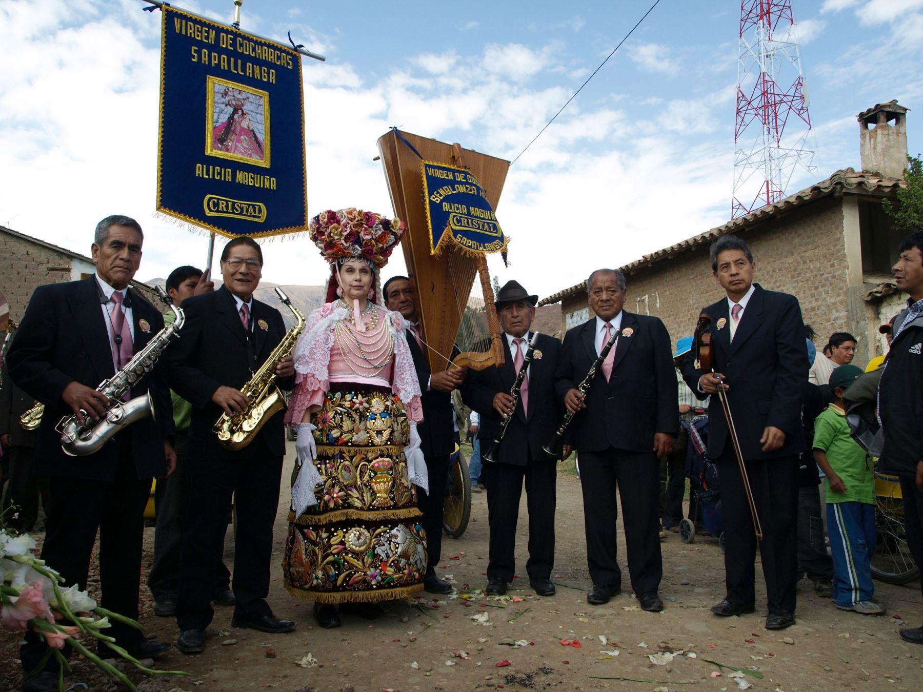 Alicia Maguiña amó y cultivó la música andina y fue una de las collas de la Virgen de Cocharcas, la tradicional festividad que se celebra en el Valle del Mantaro. Foto: Jesús Raymundo Taipe/Cortesía