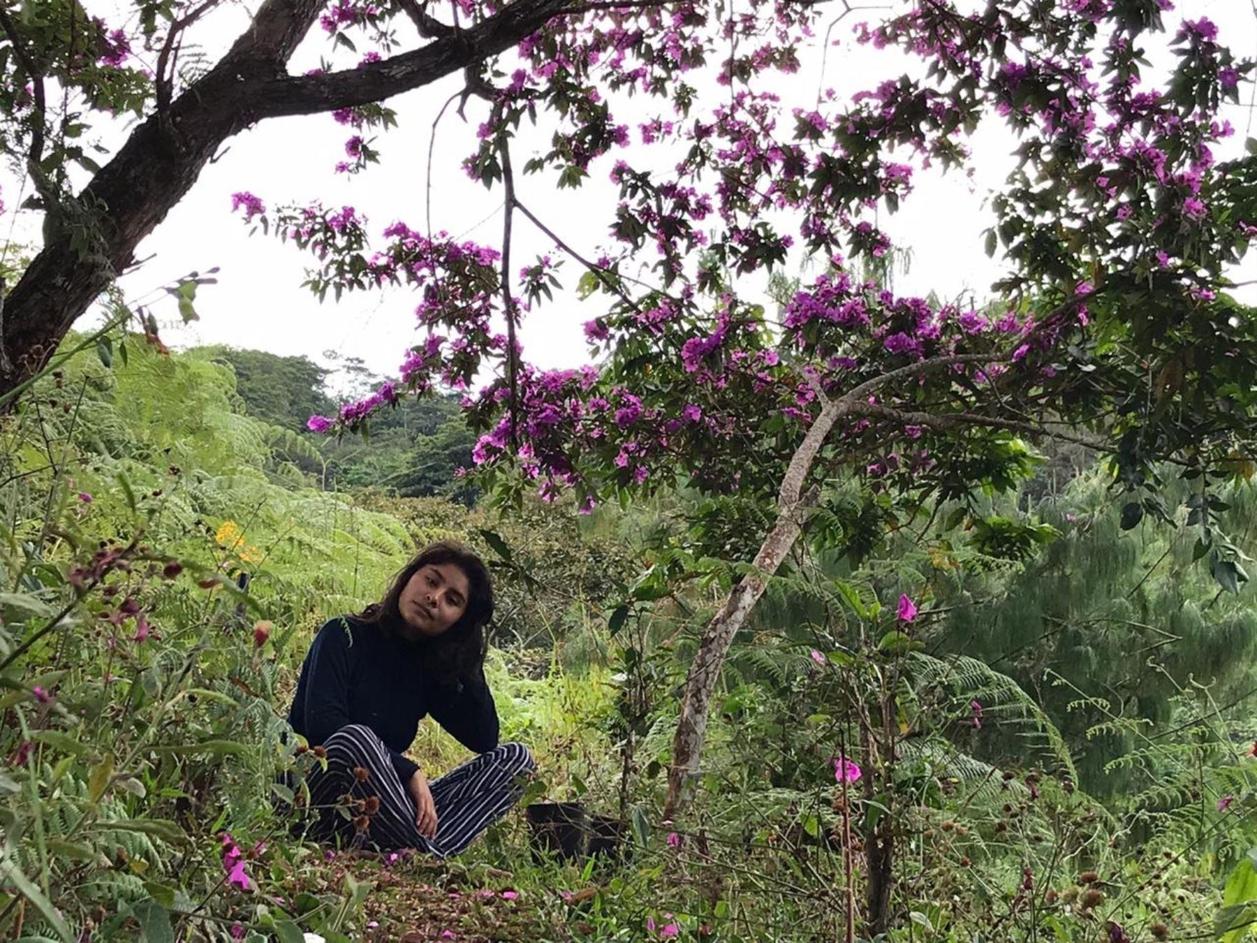 Conoce a Gardalia Quispe Guillermo, la joven talento de Junín que busca evitar extinción de plantas medicinales con ayuda de mujeres de una comunidad andina. ANDINA/Difusión
