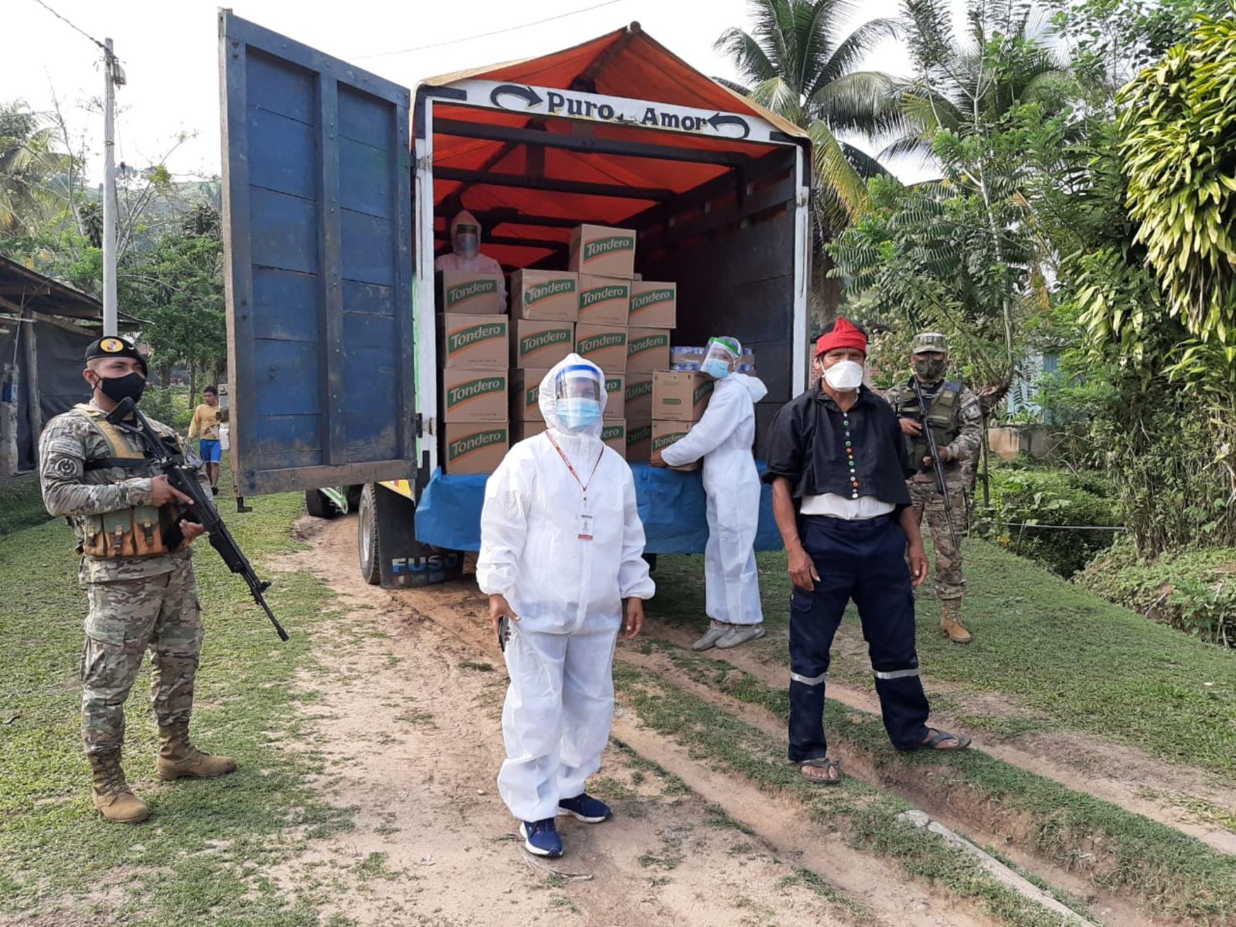Inician distribución de alimentos a comunidades indígenas de San Martín | Noticias