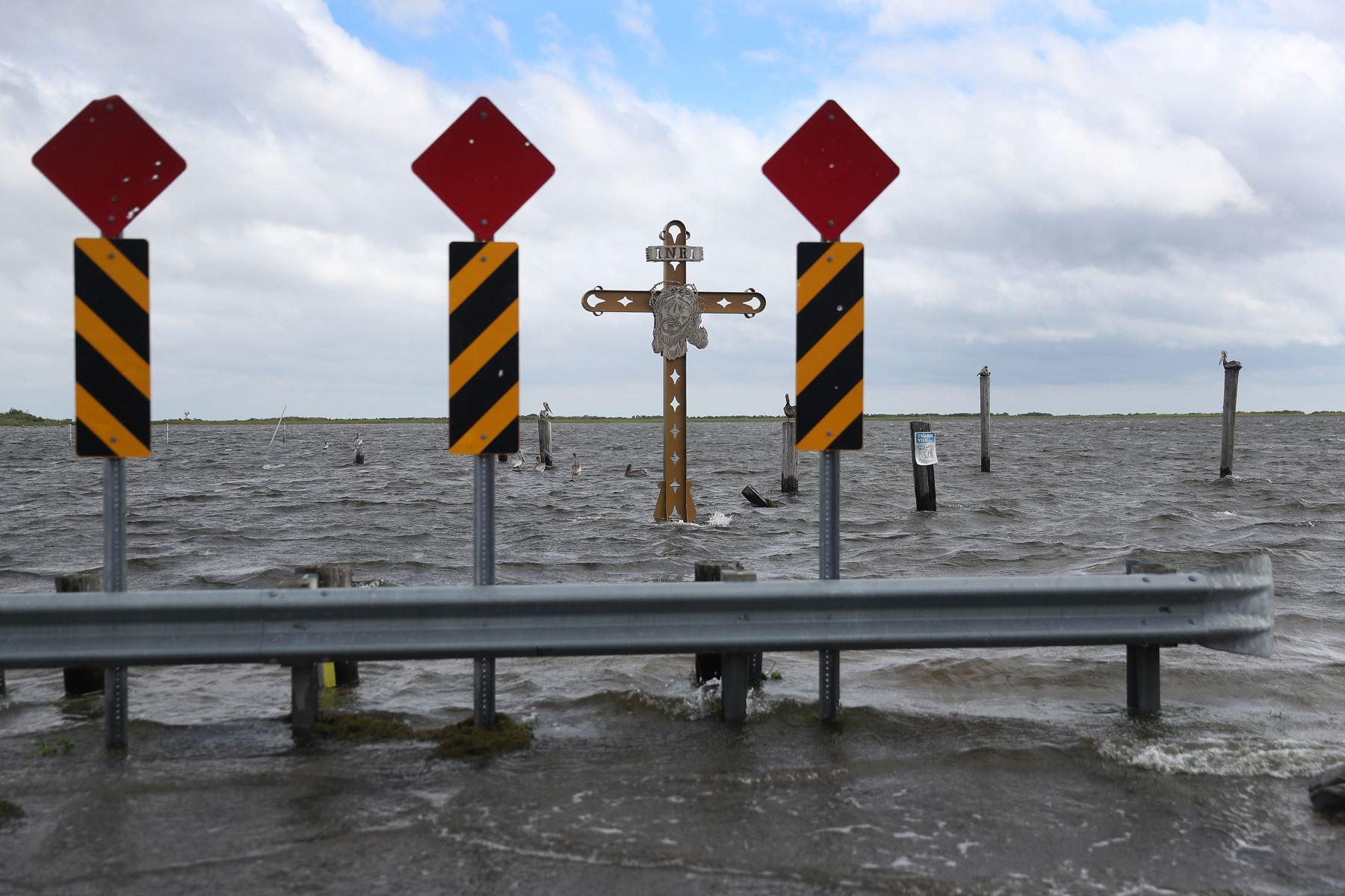 La tormenta amenaza con traer fuertes lluvias y vientos  desde Louisiana hasta Florida. Foto: AFP