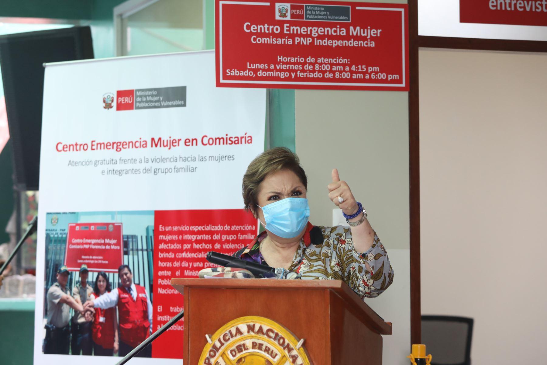 Ministra de la Mujer expresa satisfacción por decisión del Congreso sobre ministra Alva | Noticias
