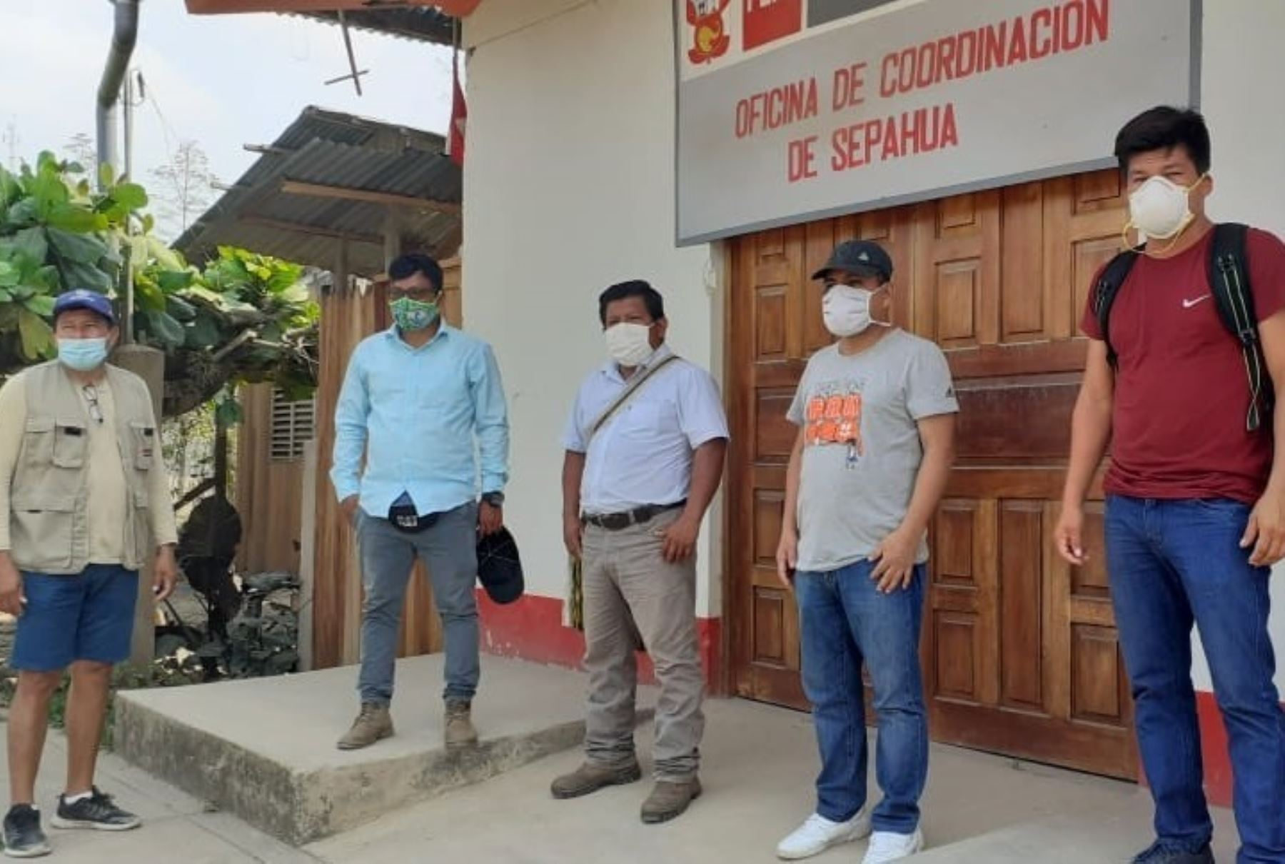 El Ministerio de Cultura anunció la entrega de 10,000  mascarillas a comunidades indígenas del Bajo Urubamba, región Cusco, para prevenir la propagación del coronavirus. ANDINA/Difusión