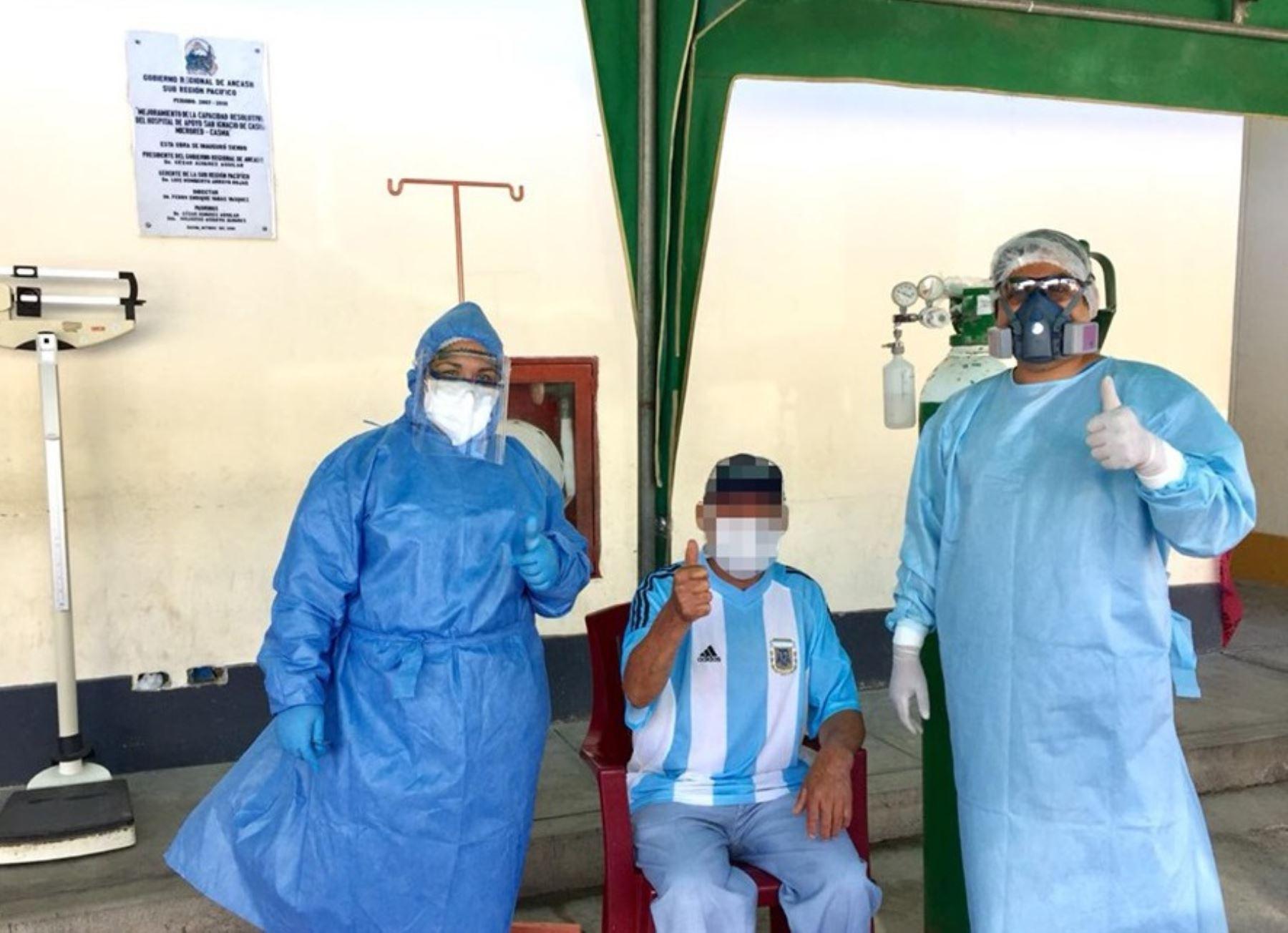 Buena noticia. La provincia de Casma, región Áncash, cumple dos semanas sin registrar muertes por coronavirus (covid-19), informaron las autoridades de salud. ANDINA/Difusión